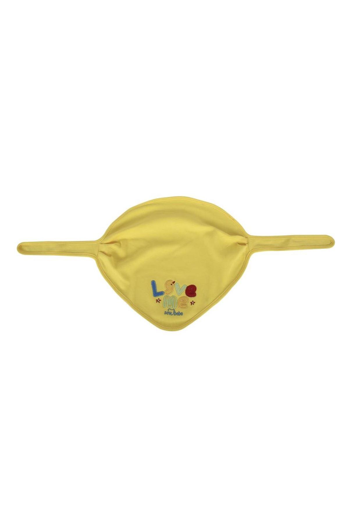 Sevi Bebe Lüks Fular Önlük ART-14 Sarı