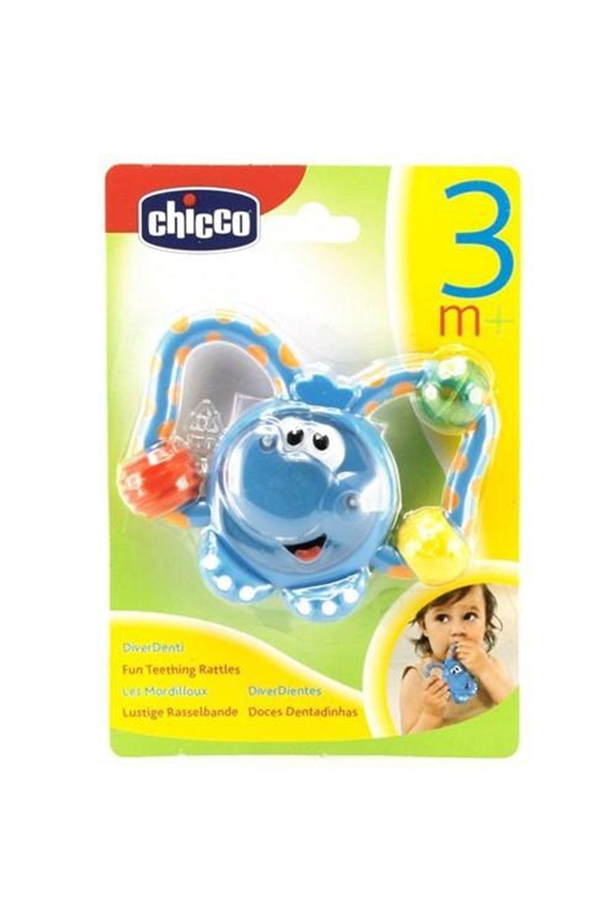 Chicco Eğlenceli Diş Kaşıma Çıngırağı Fil