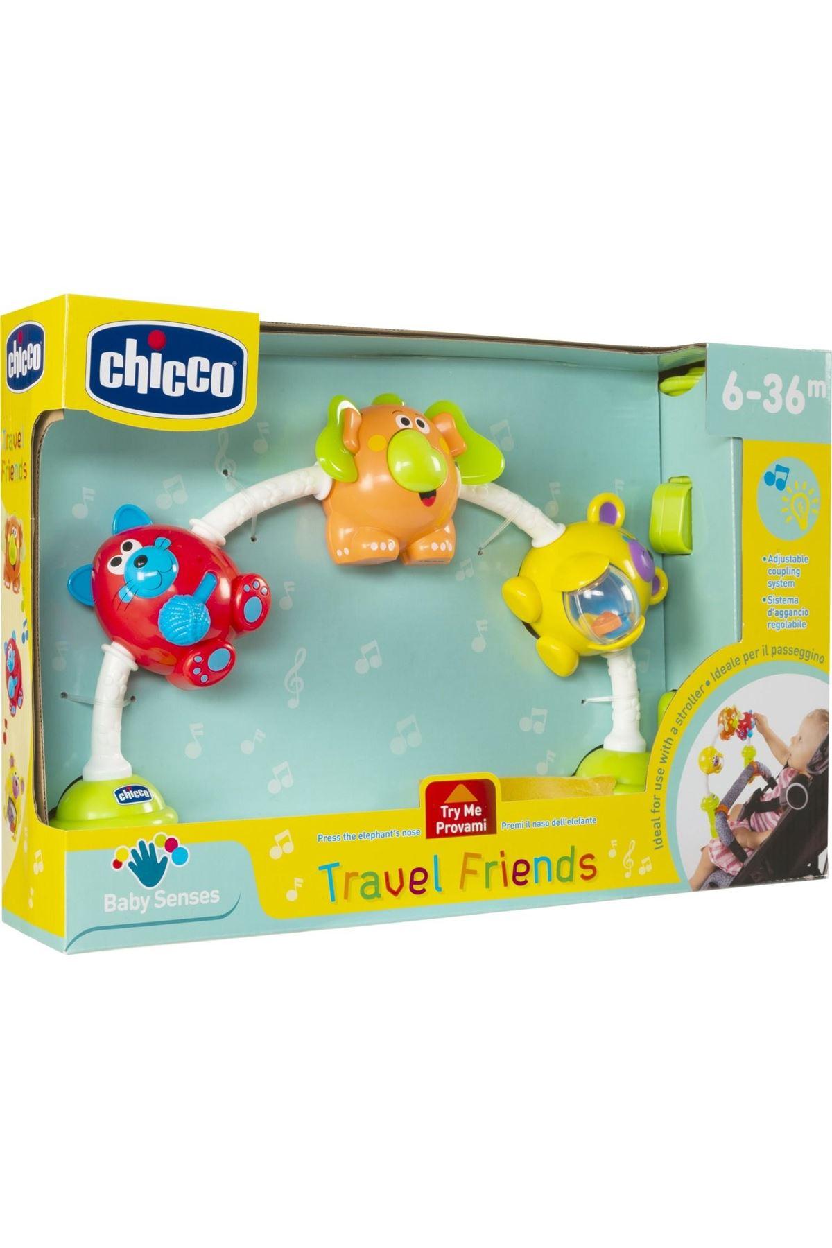 Chicco Seyahat Arkadaşlarım Puset Oyuncağı