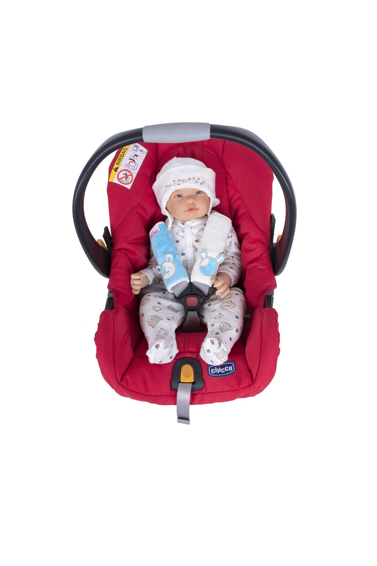 Sevi Bebe Oto Koltuğu Kemer Kılıfı ART-235 Mavi