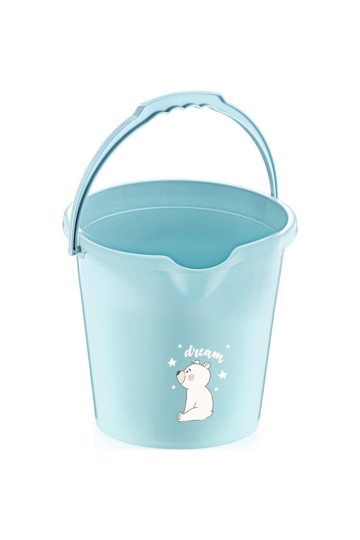 BabyJem Bebek Banyo Kovası Mat 561 Mint