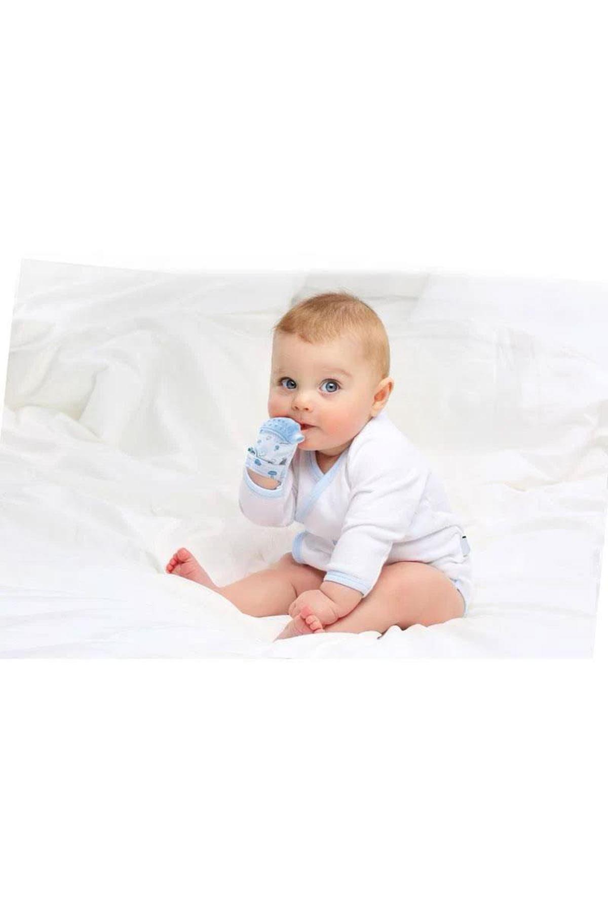 BabyJem Diş Kaşıyıcı Eldiven Kirpi 612 Ekru
