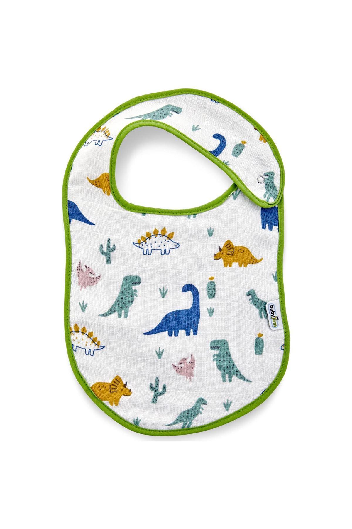 BabyJem Müslin Önlük 379 Dino
