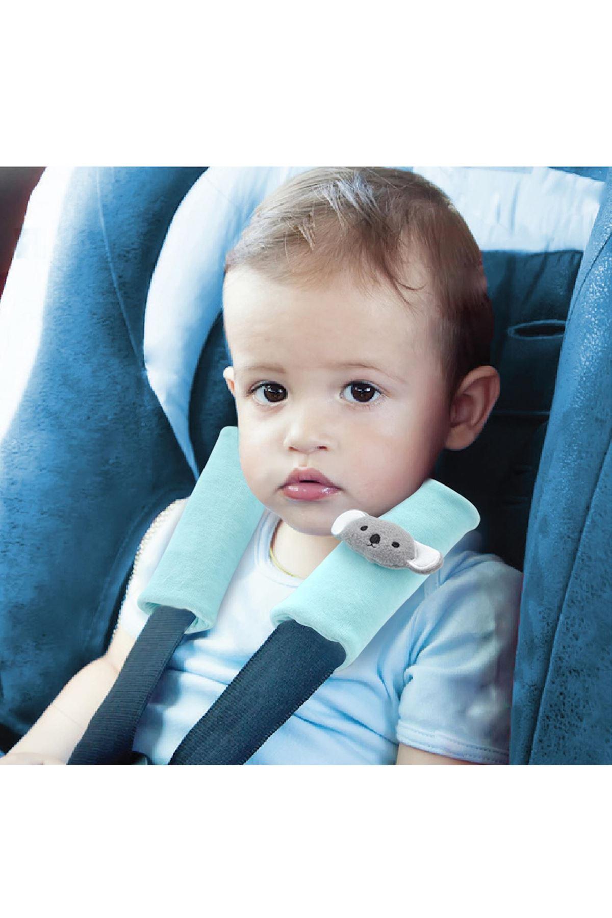 BabyJem Emniyet Kemeri Boyun Koruyucu 349 Sarı