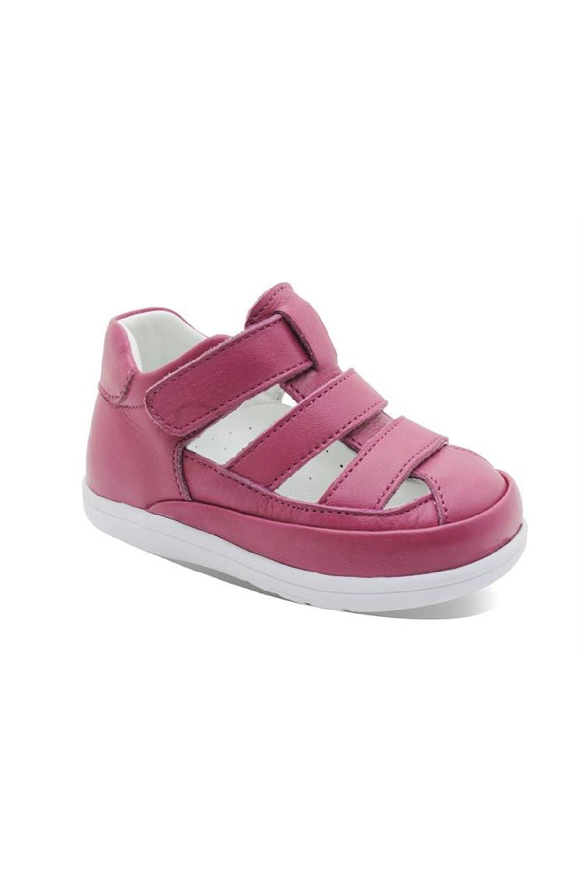 Vicco İlk Adım Deri Ayakkabı 918.E20Y.046 Pudra