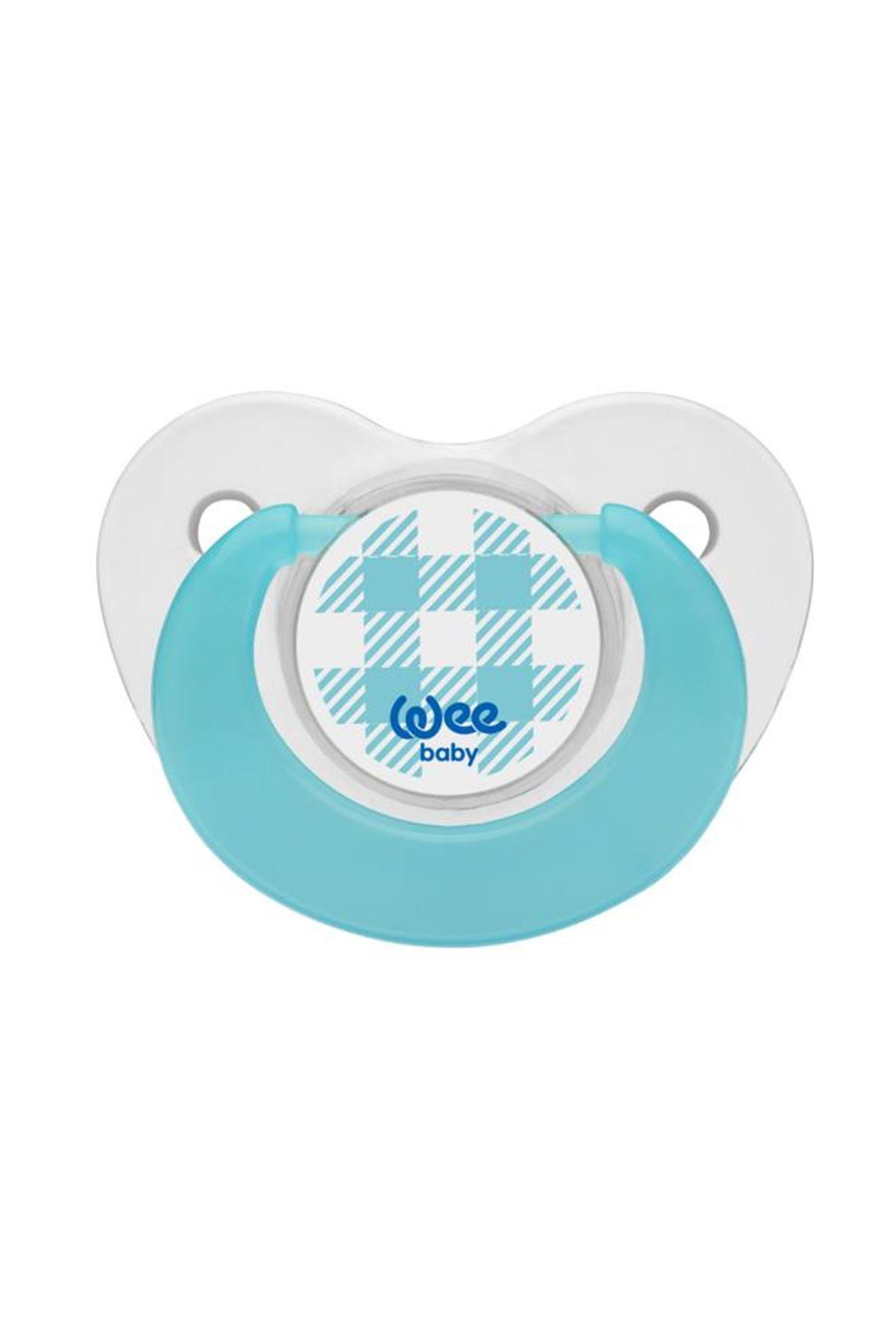 Wee Baby Trend Damaklı Emzik 2li 0-6 Ay 155