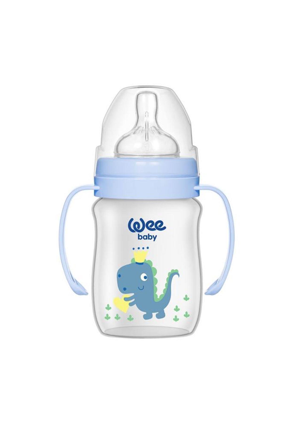 Wee Baby Klasik Plus Geniş Agızlı Kulplu PP Biberon 150 ml 137