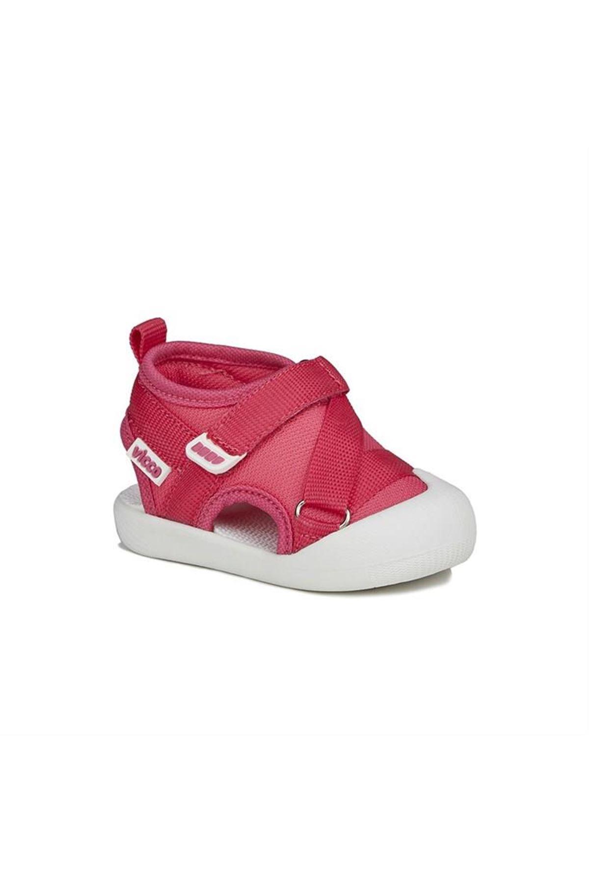 Vicco İlk Adım Deri Ayakkabı 950.E20Y.501 Fuşya