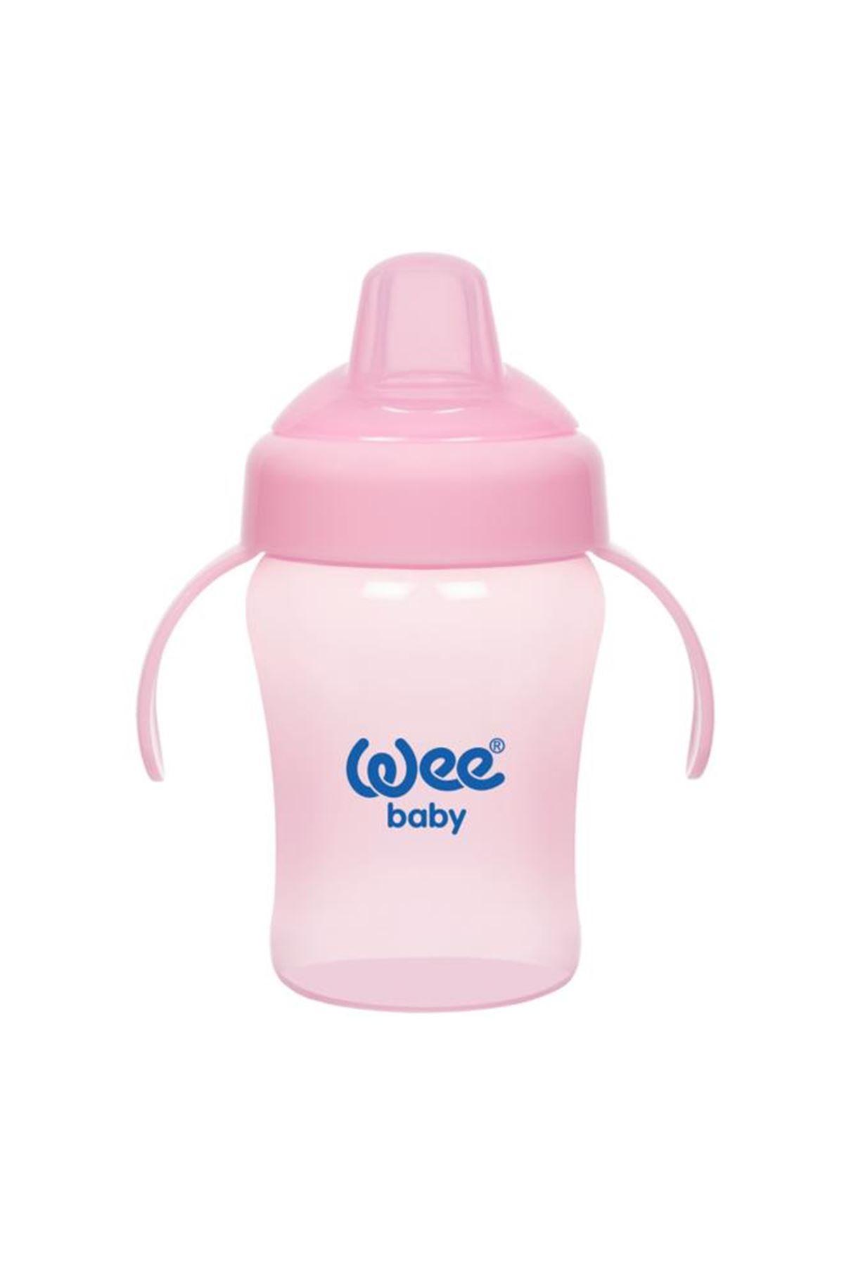 Wee Baby Colorful Akıtmaz Kulplu Bardak 240 ml 775