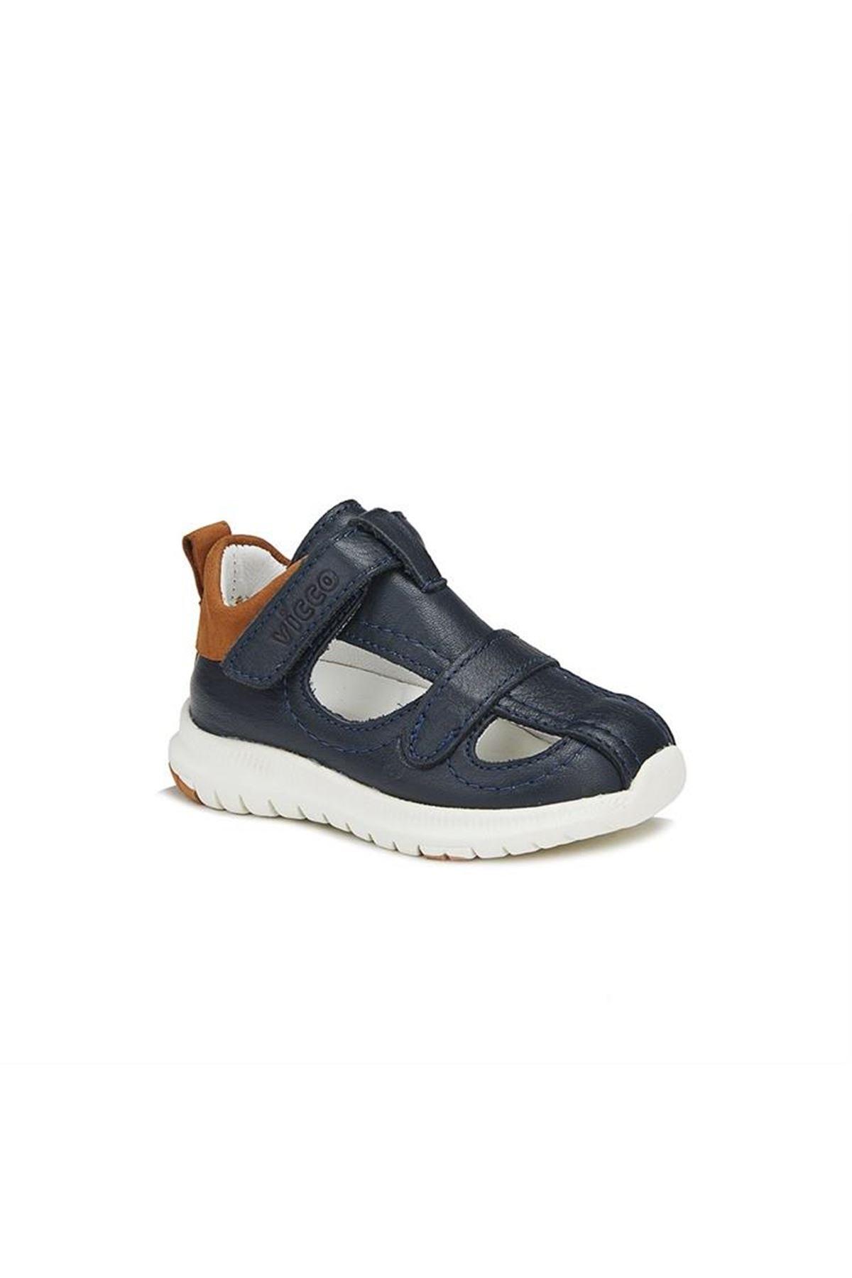 Vicco İlk Adım Phylon Deri Ayakkabı 910.E20Y.051 Lacivert