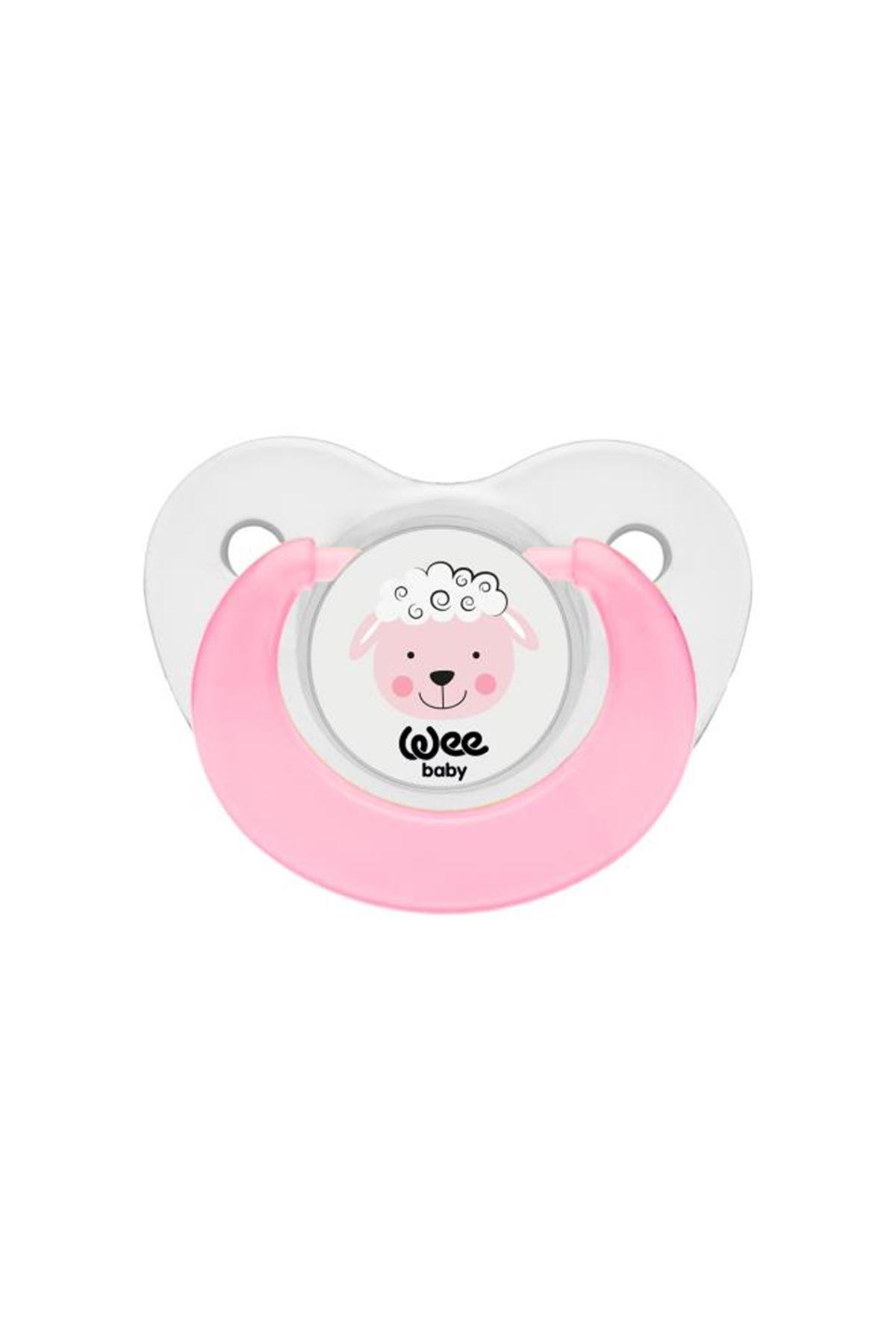 Wee Baby Sevimli Hayvanlar Damaklı Emzik 2li 0-6 Ay 319