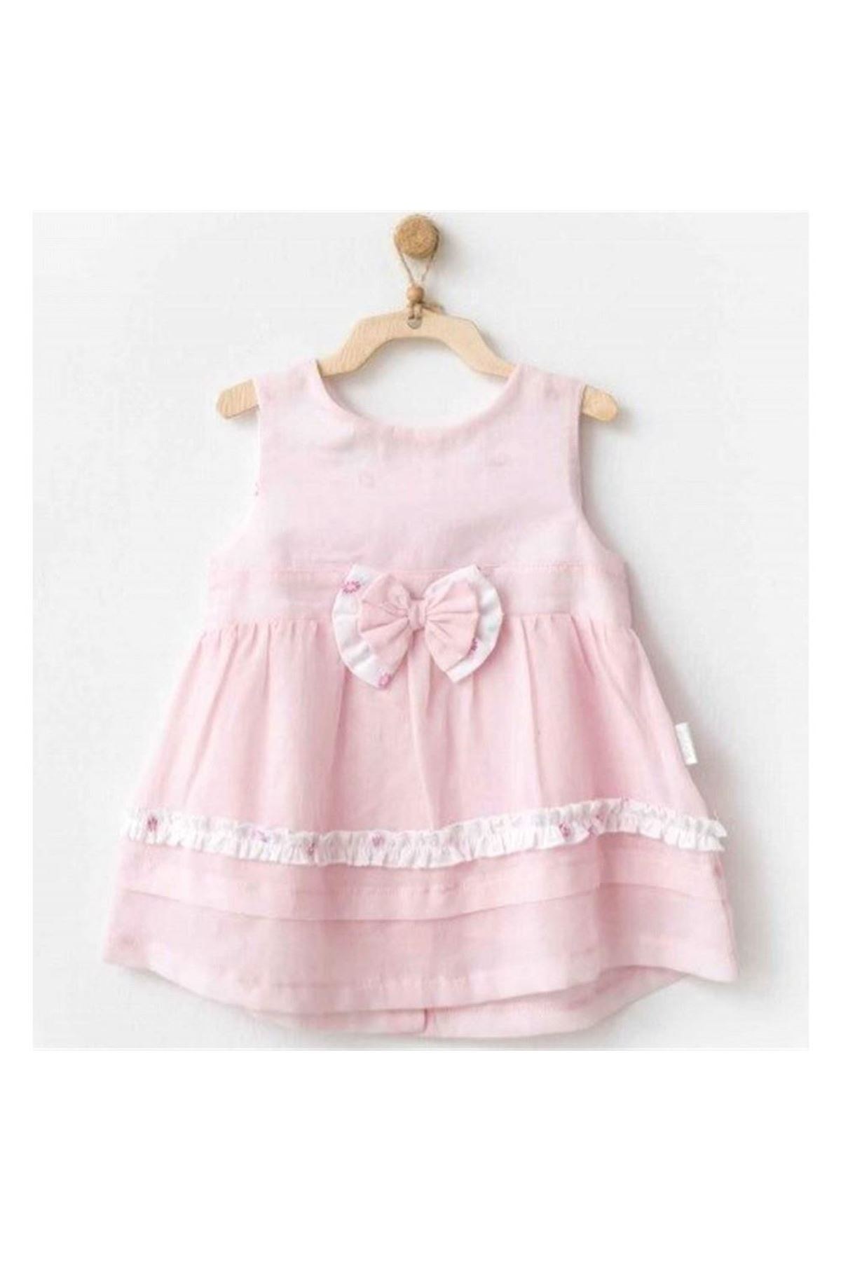 Andywawa AC20551 My Little Bunny Dream Elbise Pink