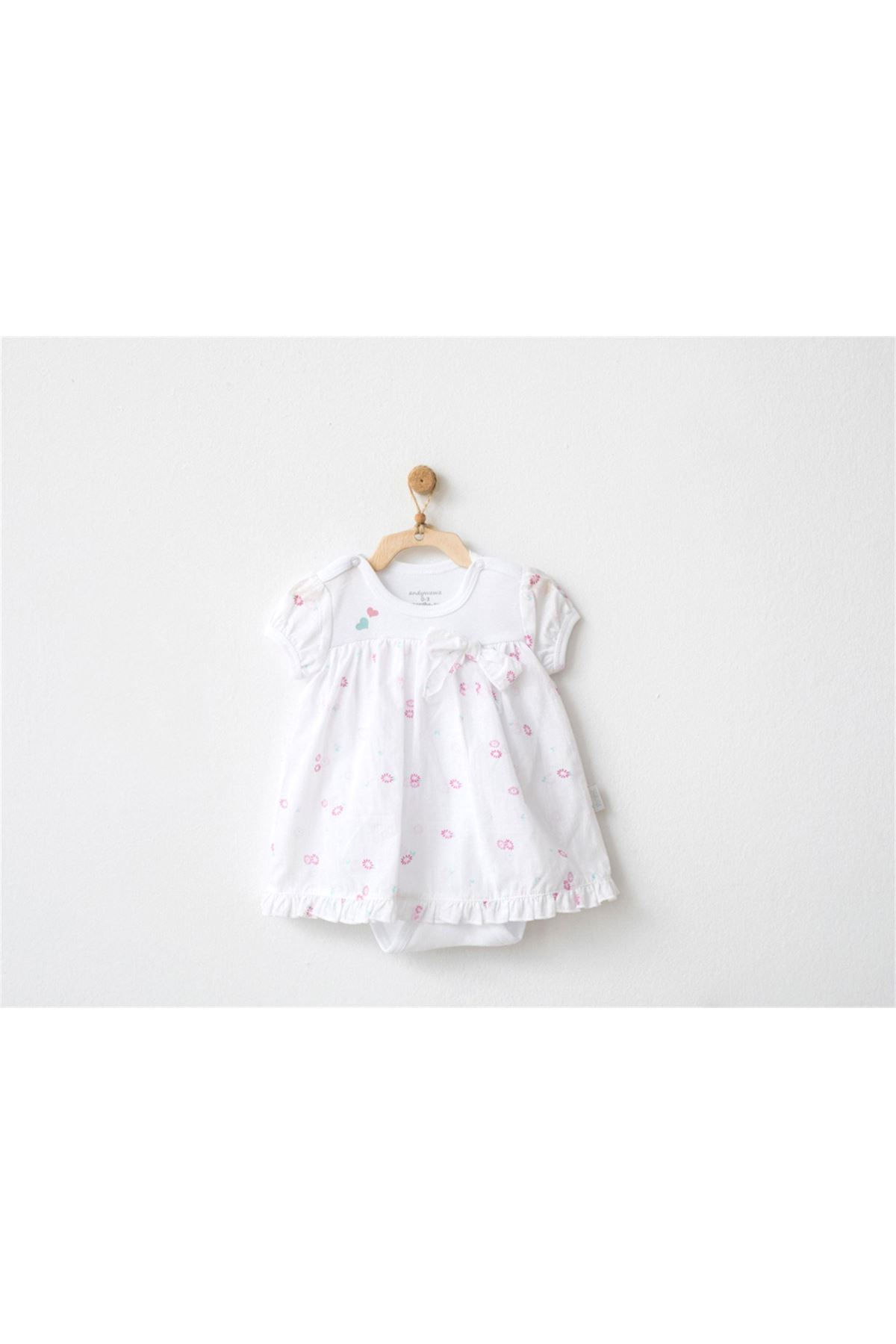 Andywawa AC20533 My Little Bunny Dream Elbise White