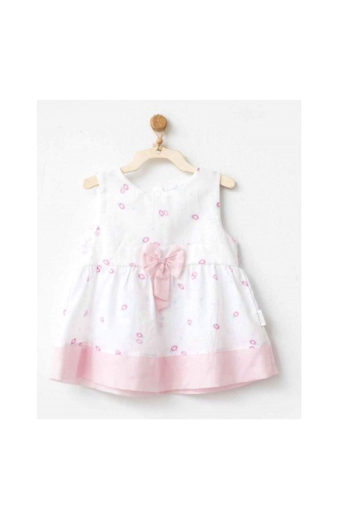 Andywawa AC20543 My Little Bunny Dream Elbise White