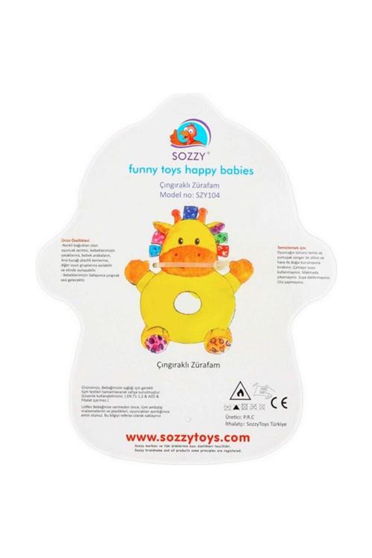 Sozzy Toys Çıngıraklı Zürafam SZY104