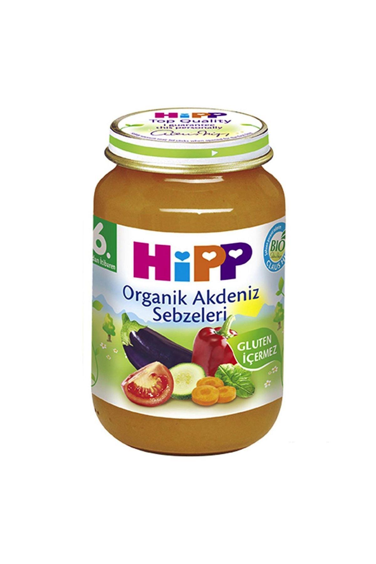 Hipp Organik Akdeniz Sebzeleri 190 Gr.