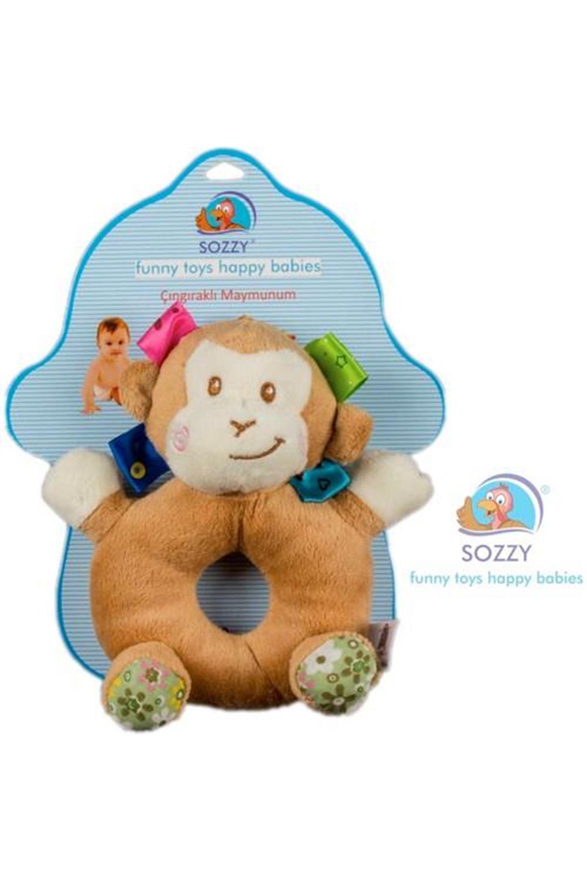 Sozzy Toys Çıngıraklı Maymunum SZY106