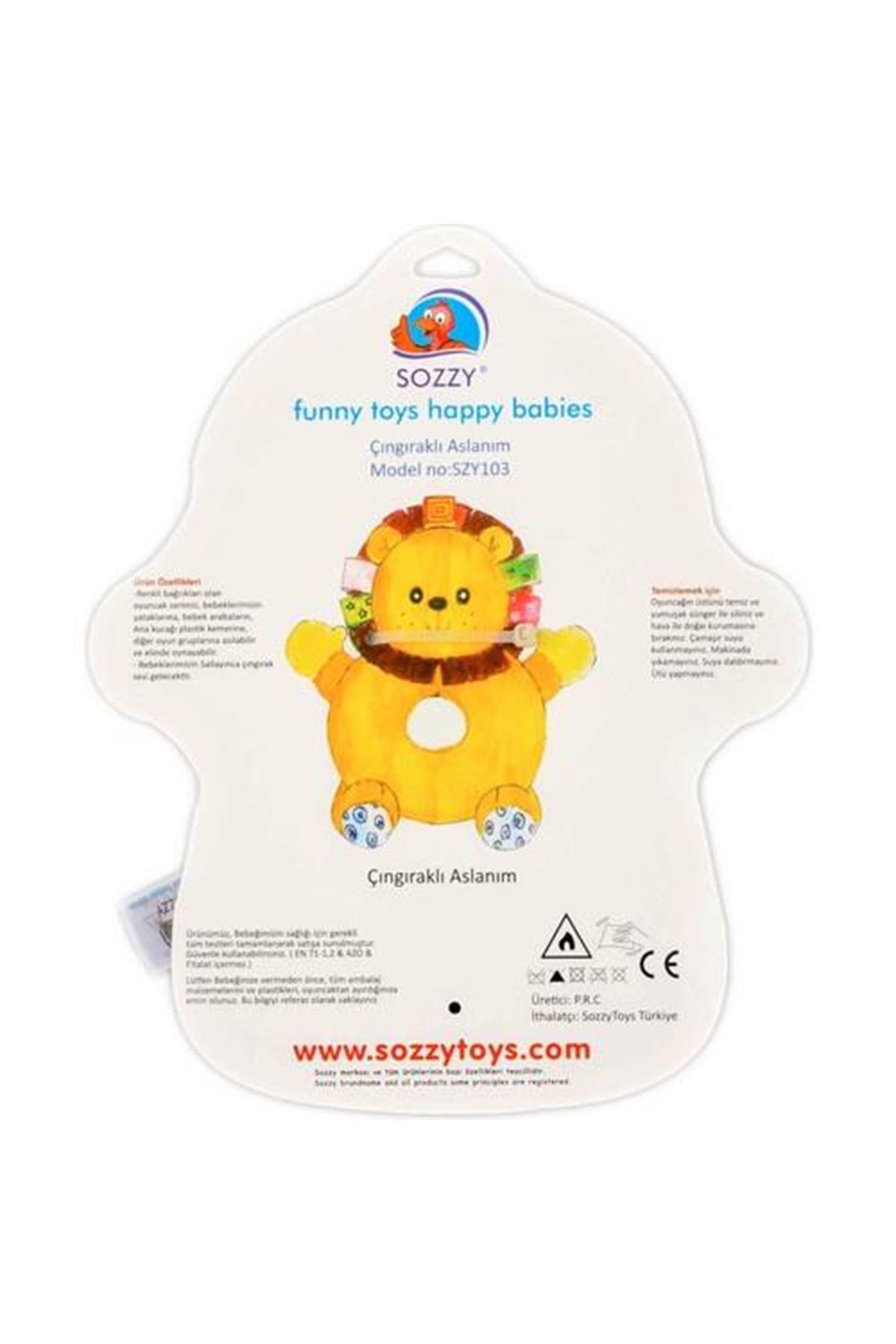 Sozzy Toys Çıngıraklı Aslanım SZY103