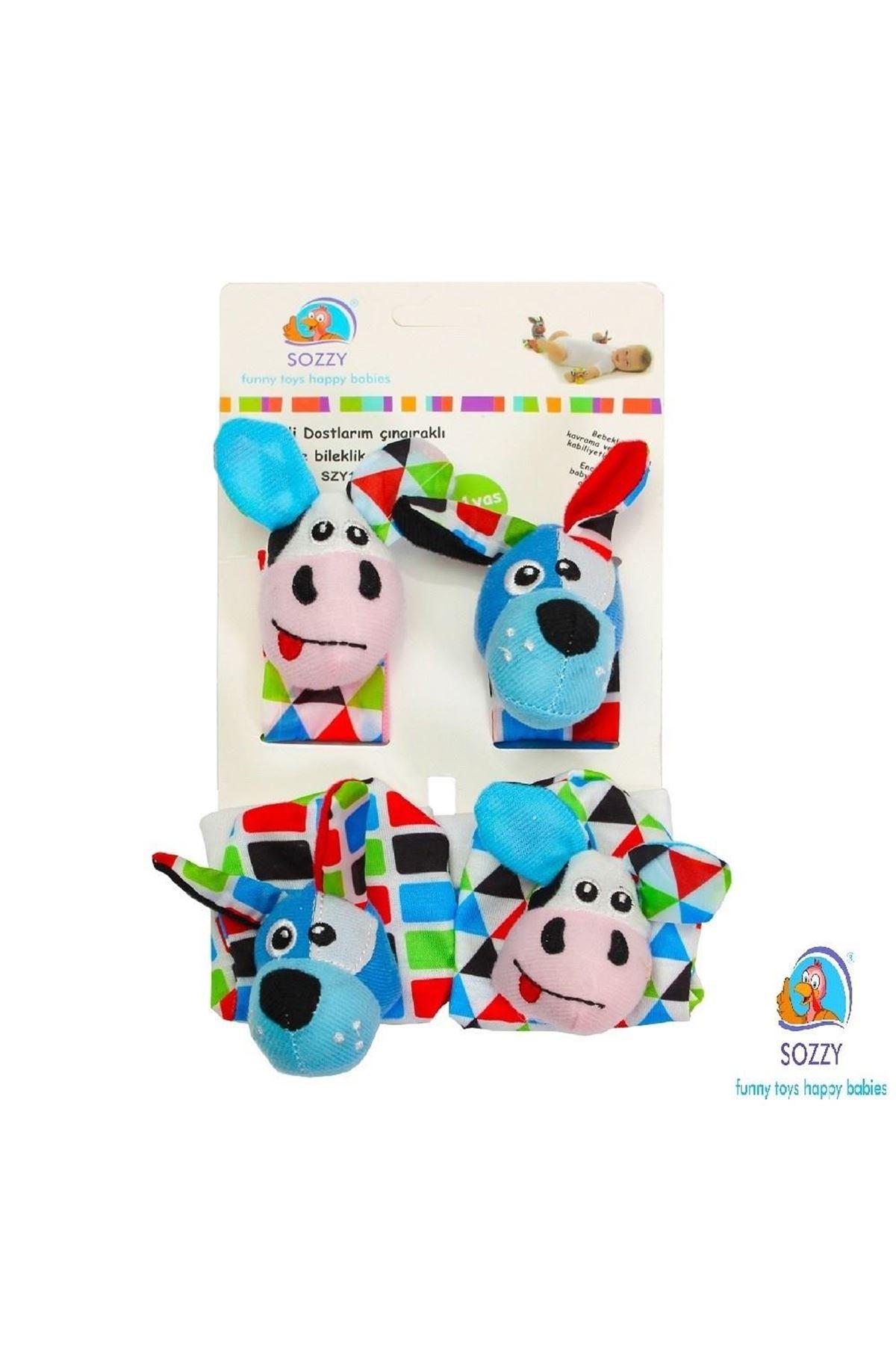 Sozzy Toys Çıngıraklı Çorap ve Bileklik Seti SZY120