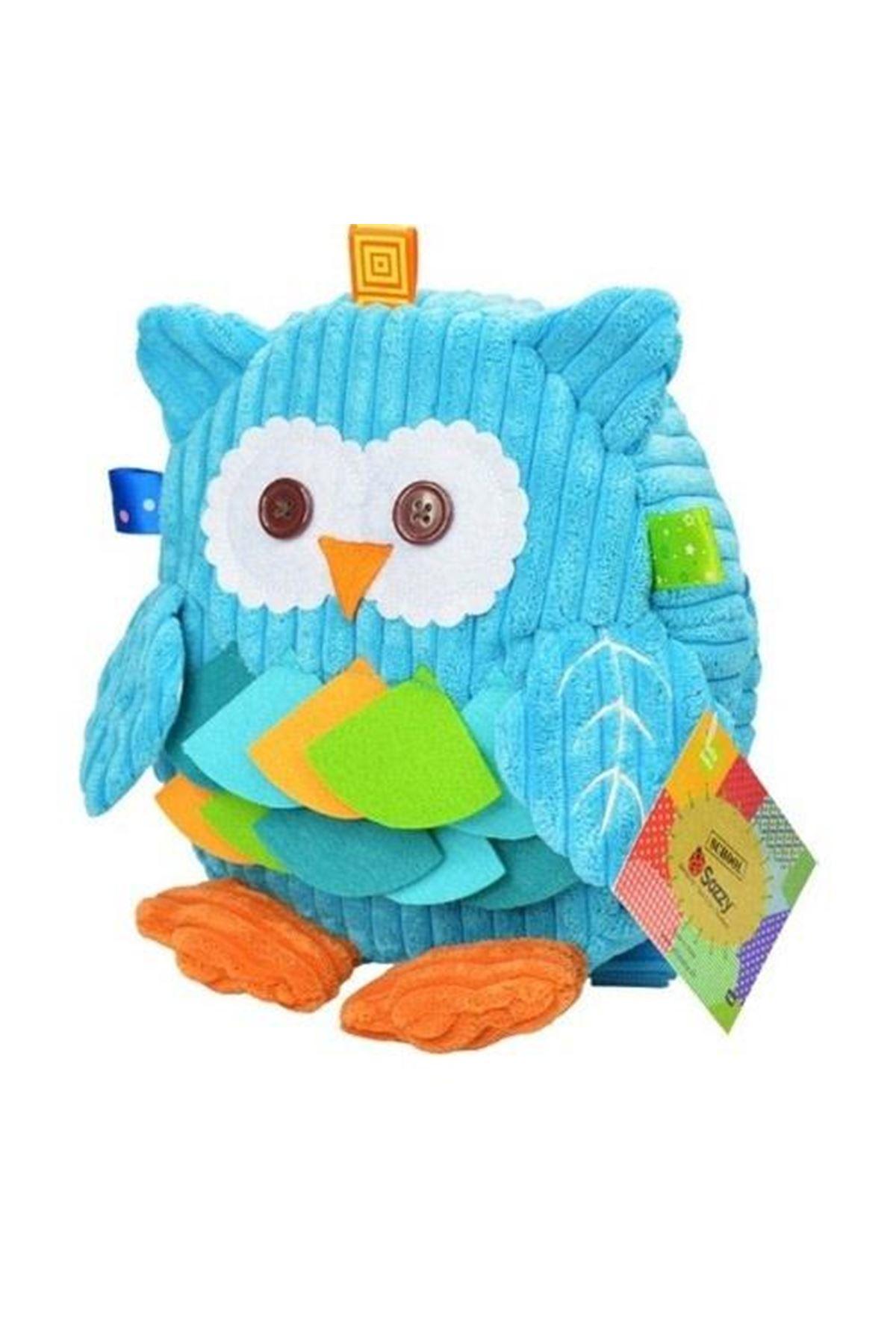 Sozzy Toys Mavi Baykuş Sırt Çantası SZY125 Erkek