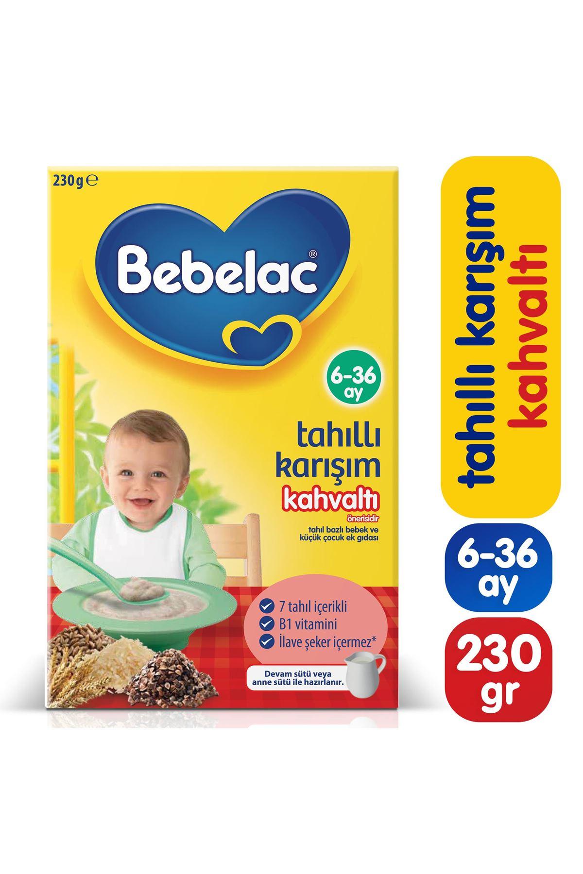 Bebelac Tahıllı Karışım Kahvaltı Kaşık Maması 230 Gr