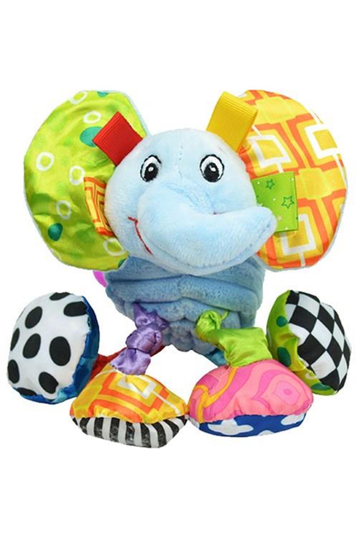 Sozzy Toys Titreşimli ve Çıngıraklı Hayvanlar Fil SZY155
