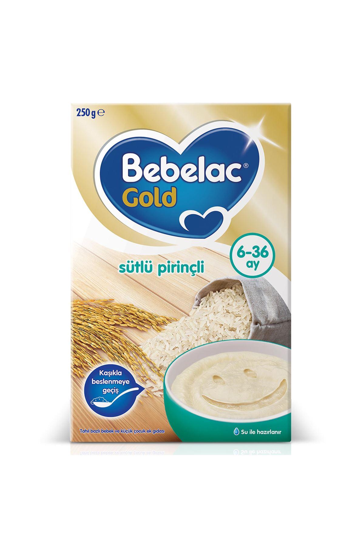 Bebelac Gold Sütlü Pirinçli Kaşık Maması 250 Gr