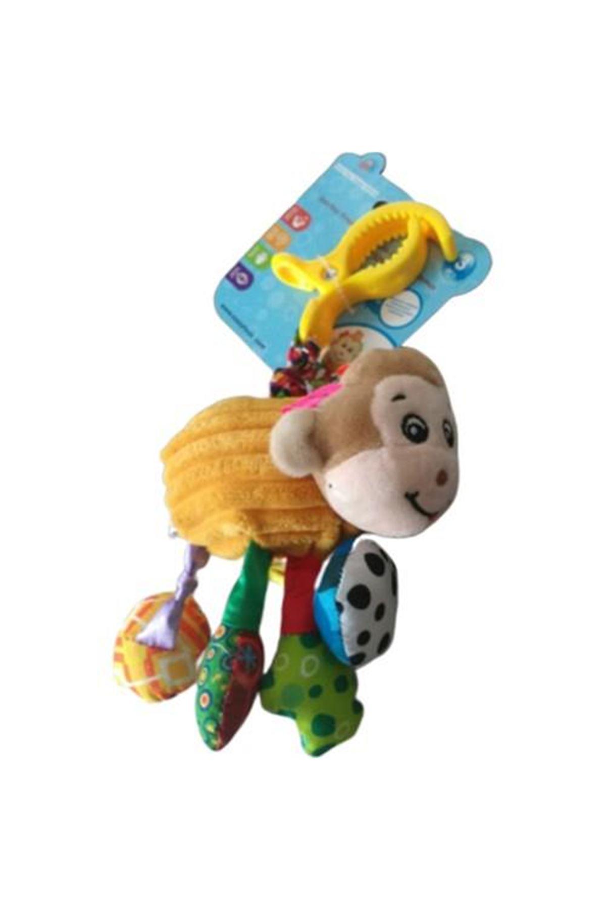 Sozzy Toys Titreşimli ve Çıngıraklı Hayvanlar Maymun SZY156