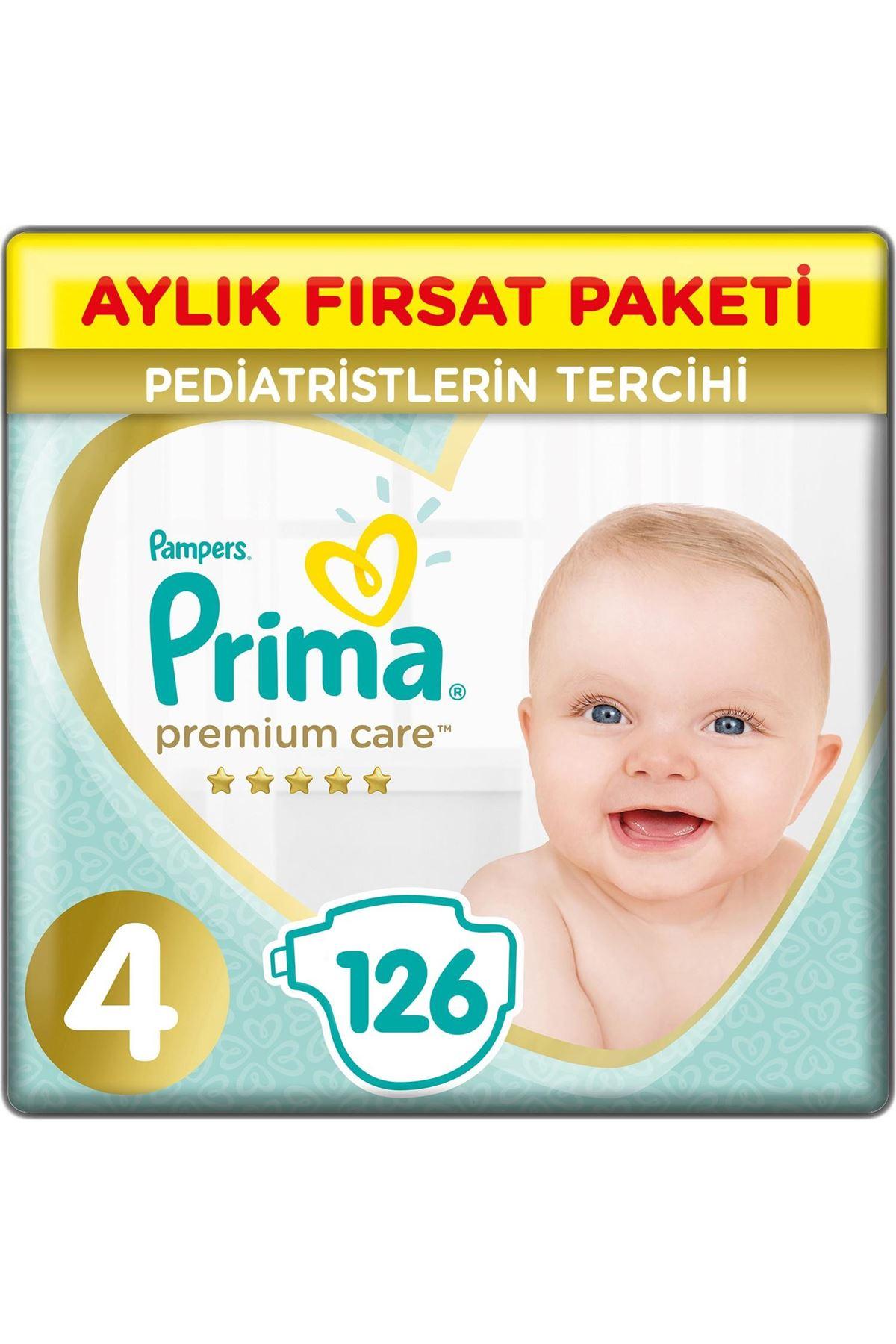 Prima Premium Care Aylık Fırsat Paketi 4 Beden 126 Adet
