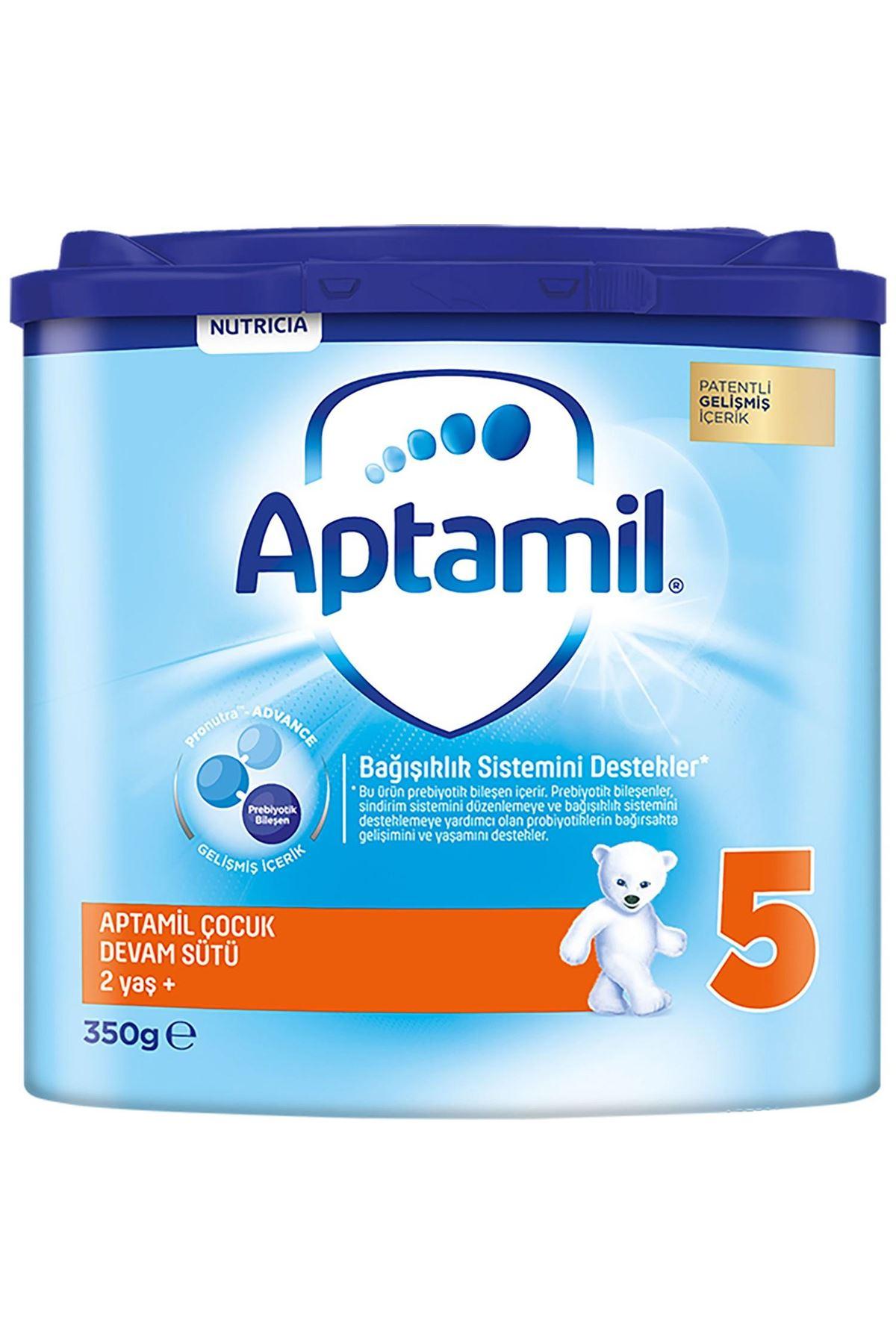 Aptamil Bebek Devam Sütü No5 350 Gr