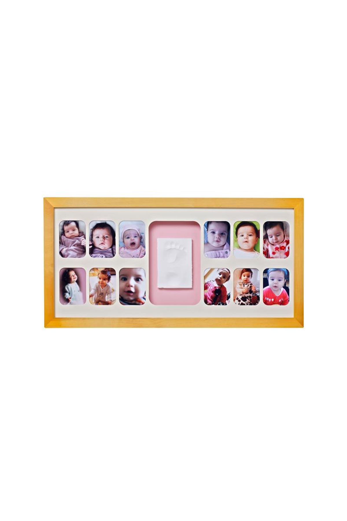 Baby Memory Prints 12 Aylık Çerçeve Naturel