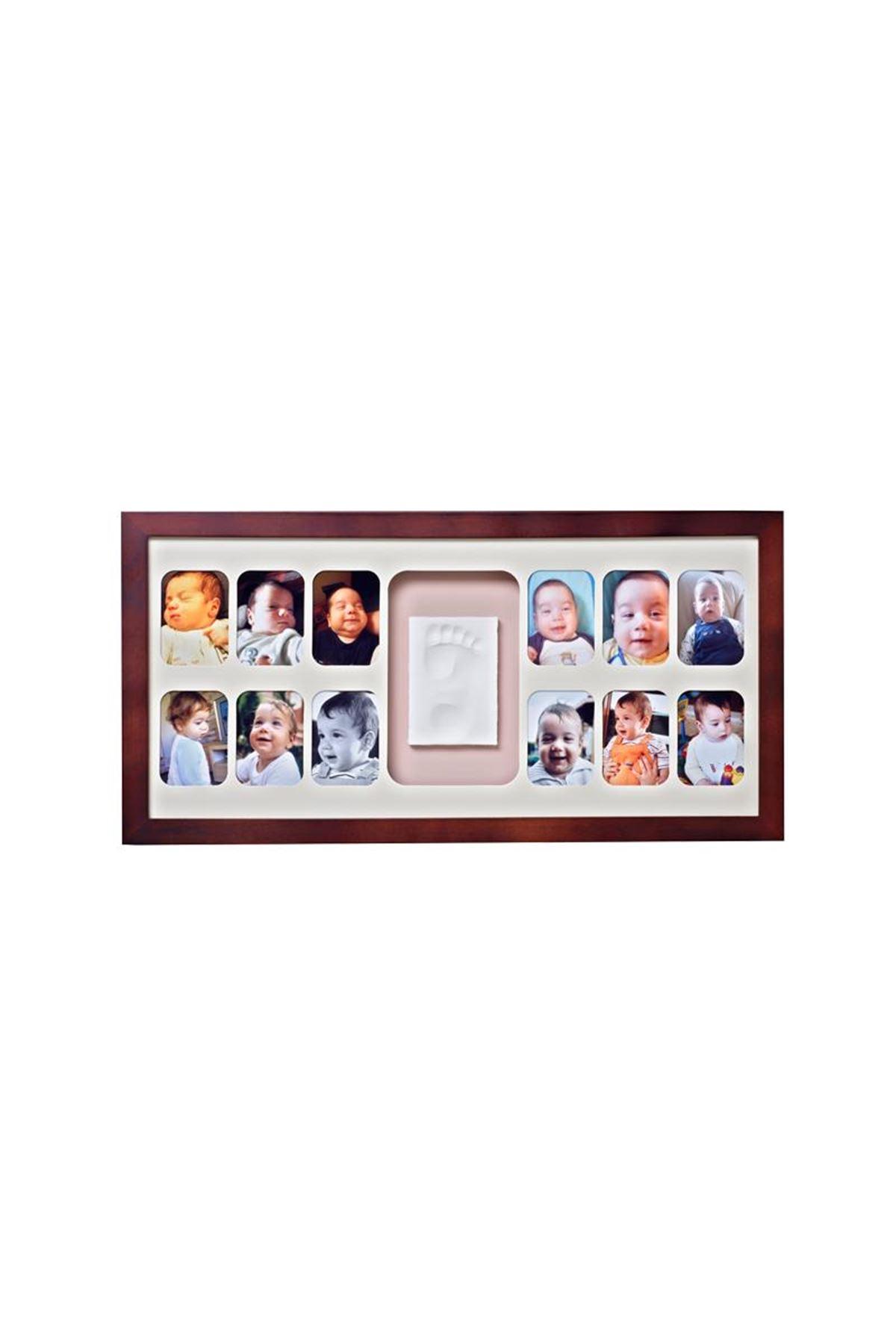 Baby Memory Prints 12 Aylık Çerçeve Ceviz