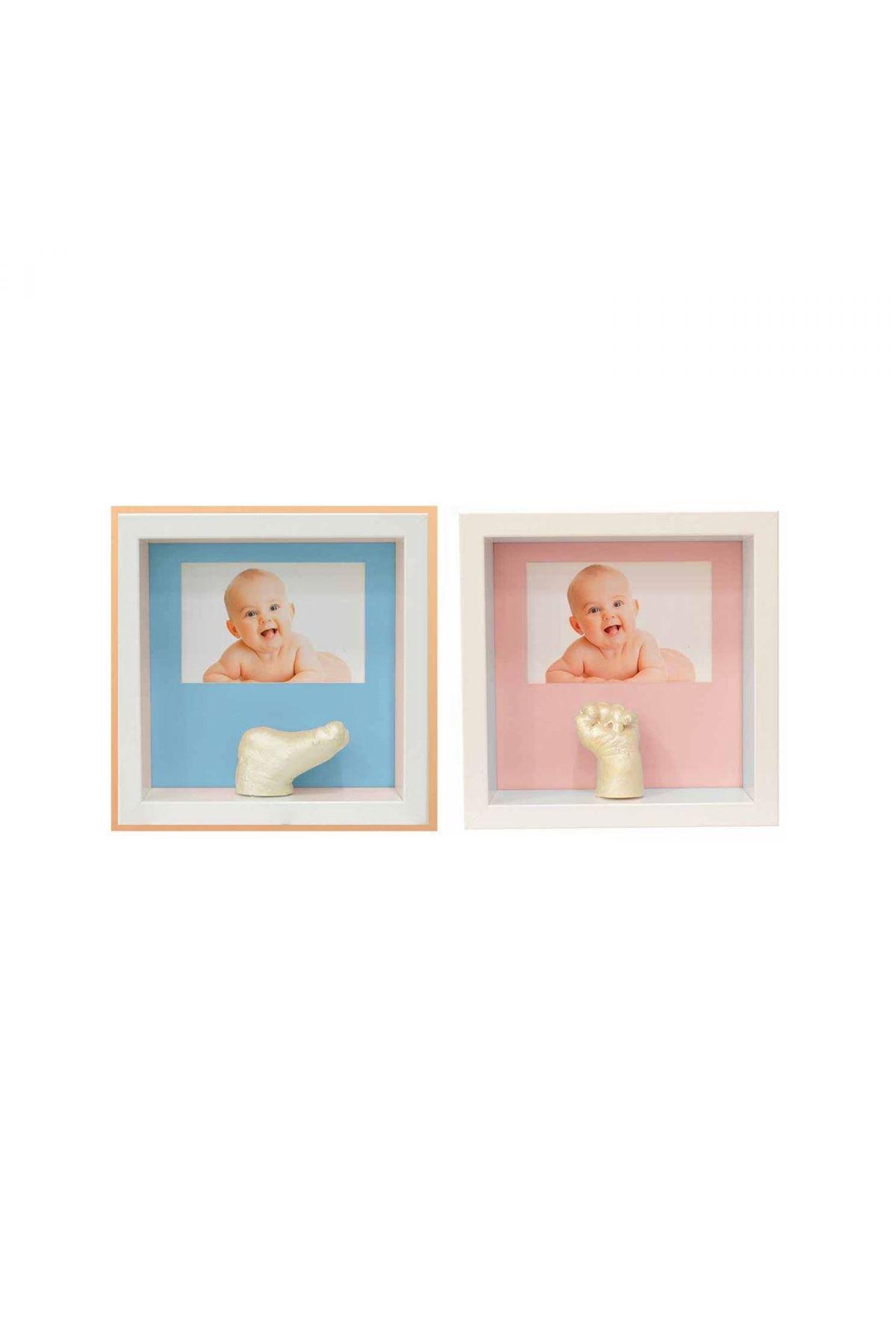 Baby Memory Prints 3D Niş Çerçeve Beyaz