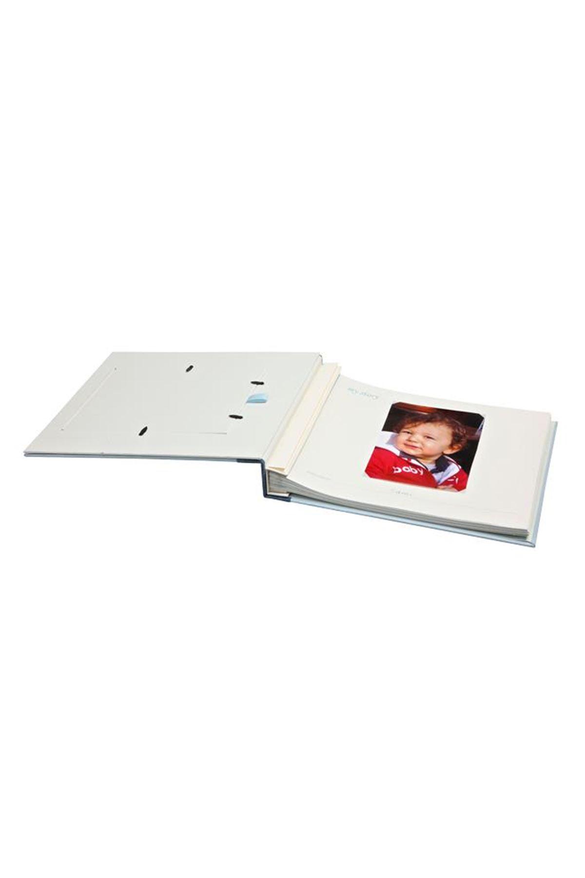 Baby Memory Prints Deri Hatıra Albümü Pembe