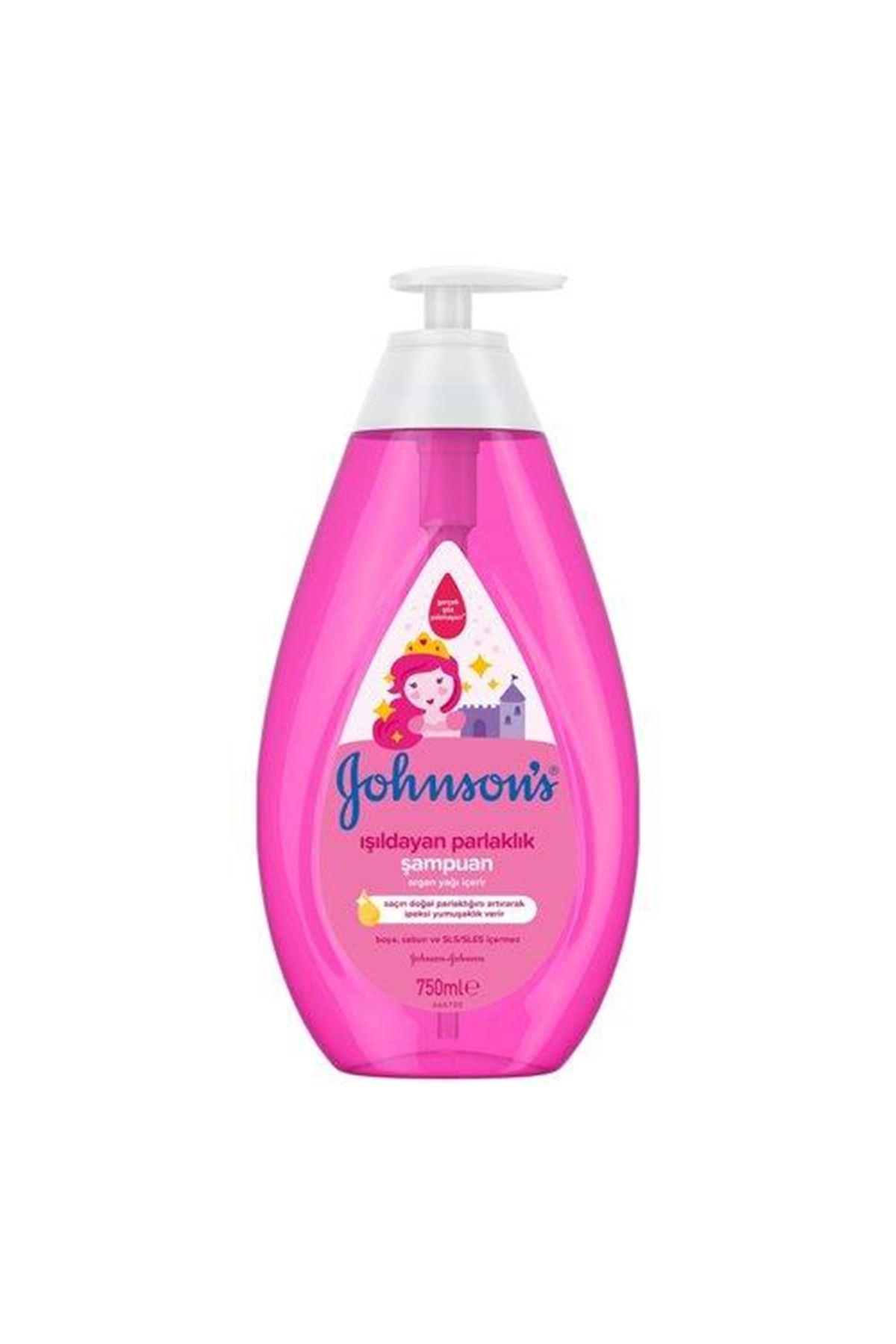 Johnson's Baby Işıldayan Parlaklık Bebek Şampuanı 750 ml