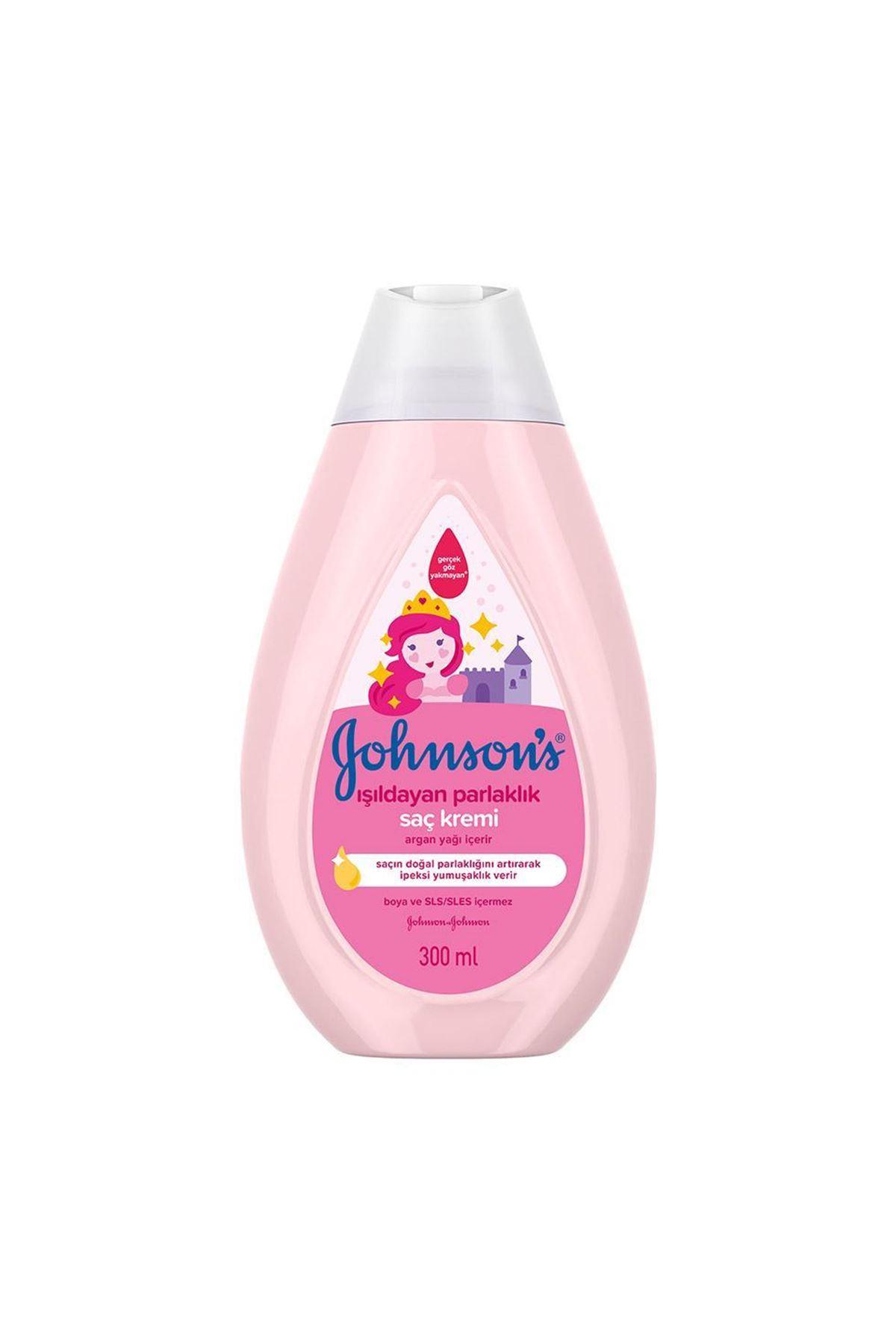 Johnson's Baby Işıldayan Parlaklık Saç Kremi 300 ml