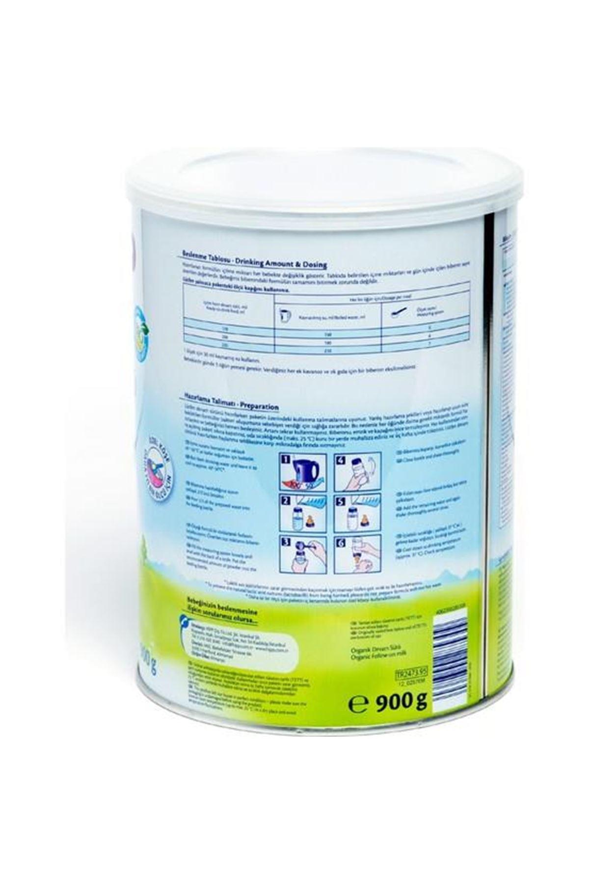Hipp 2 Organik Combiotic Bebek Sütü 800 Gr