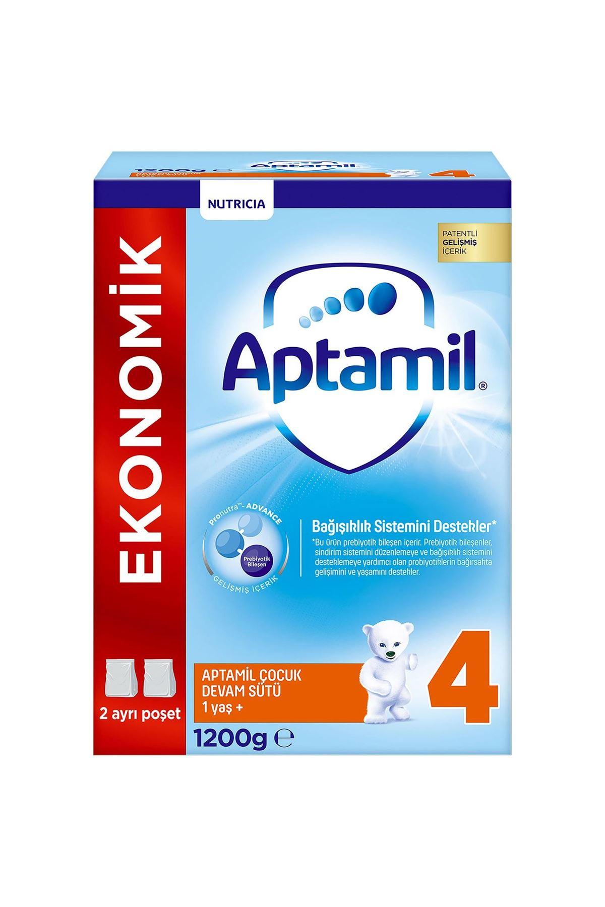 Aptamil 4 Bebek Devam Sütü 1 Yaş+ 1200 Gr