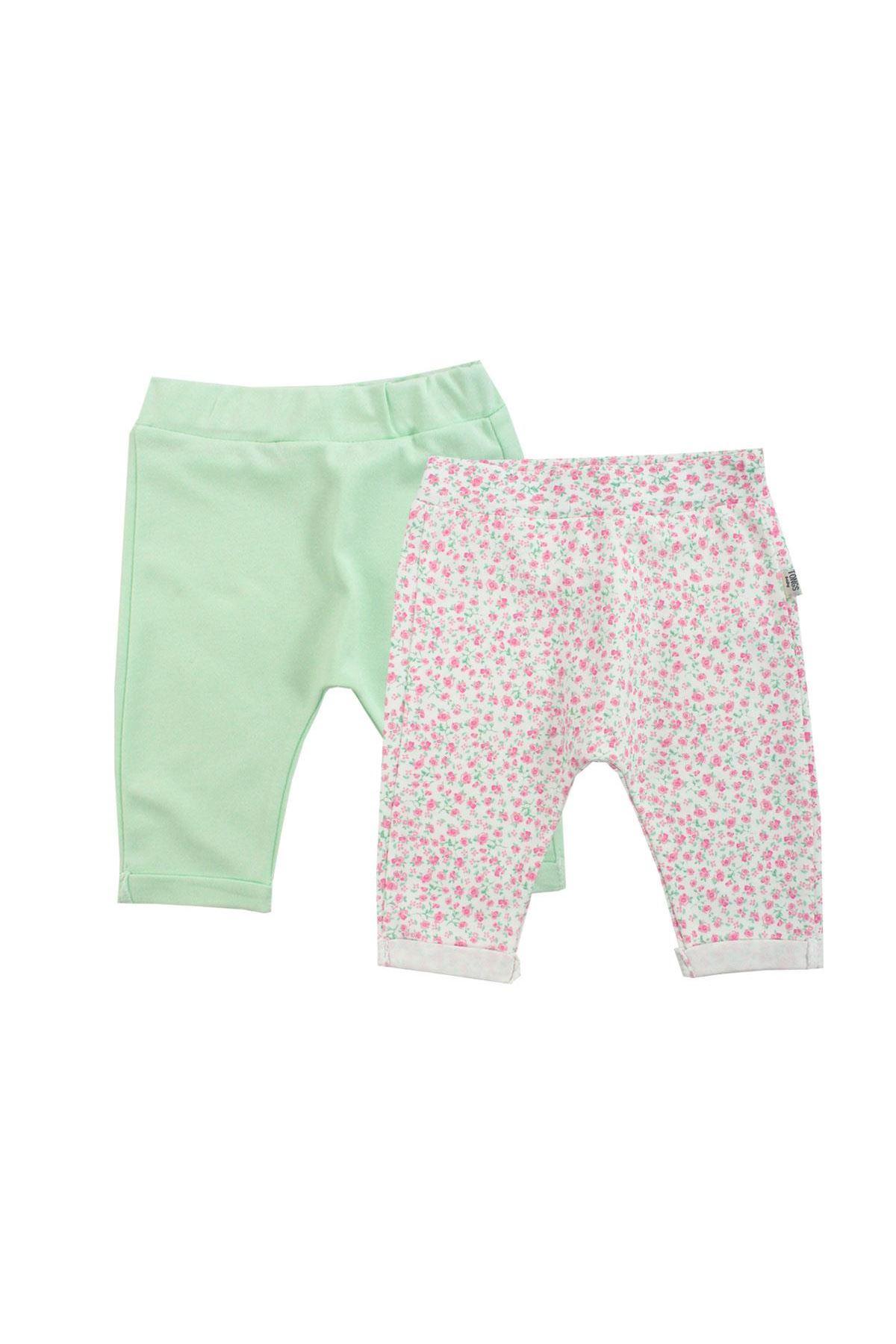 Tongs Baby Mommy Love Tek Alt Pantolon 2498 Yeşil