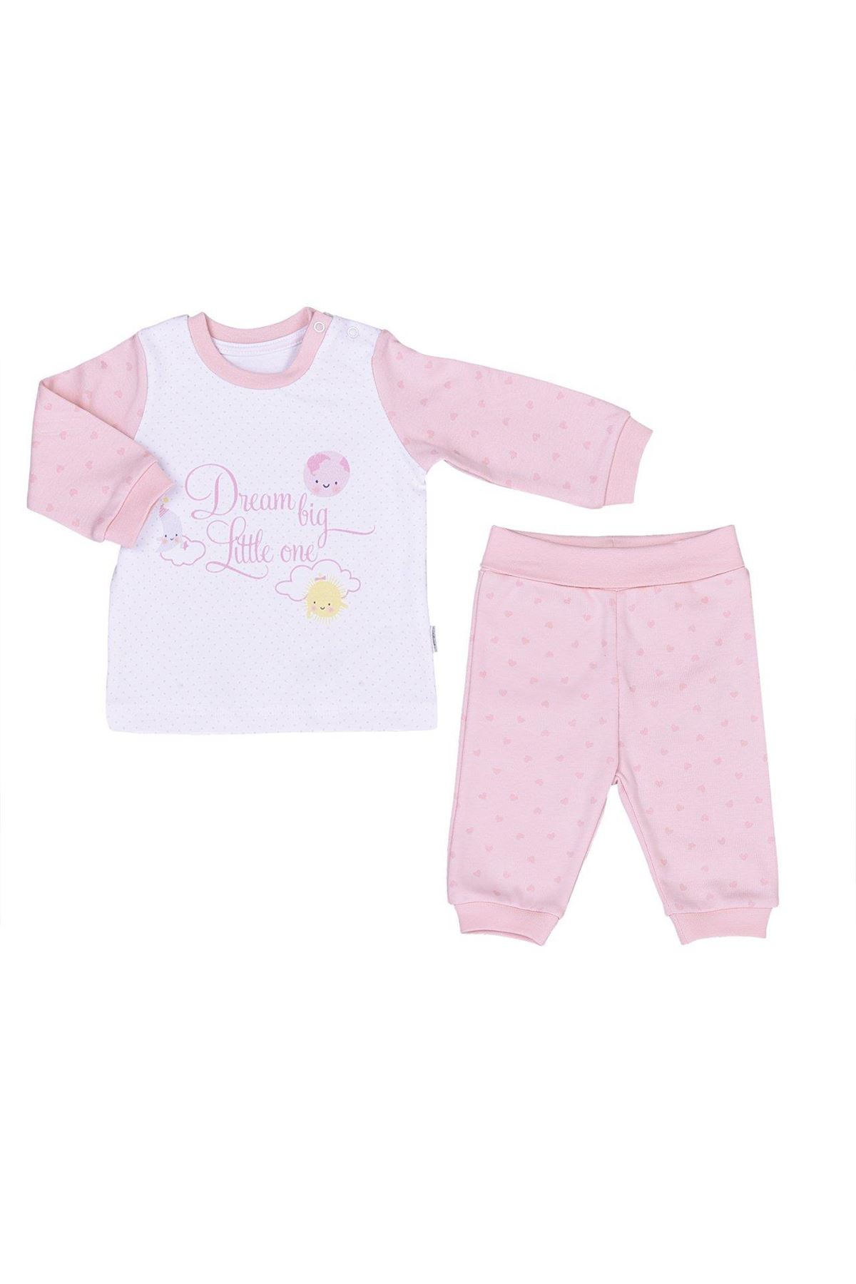 KitiKate Organik Dreams Big Little One 2'li Takım 59175 Pembe