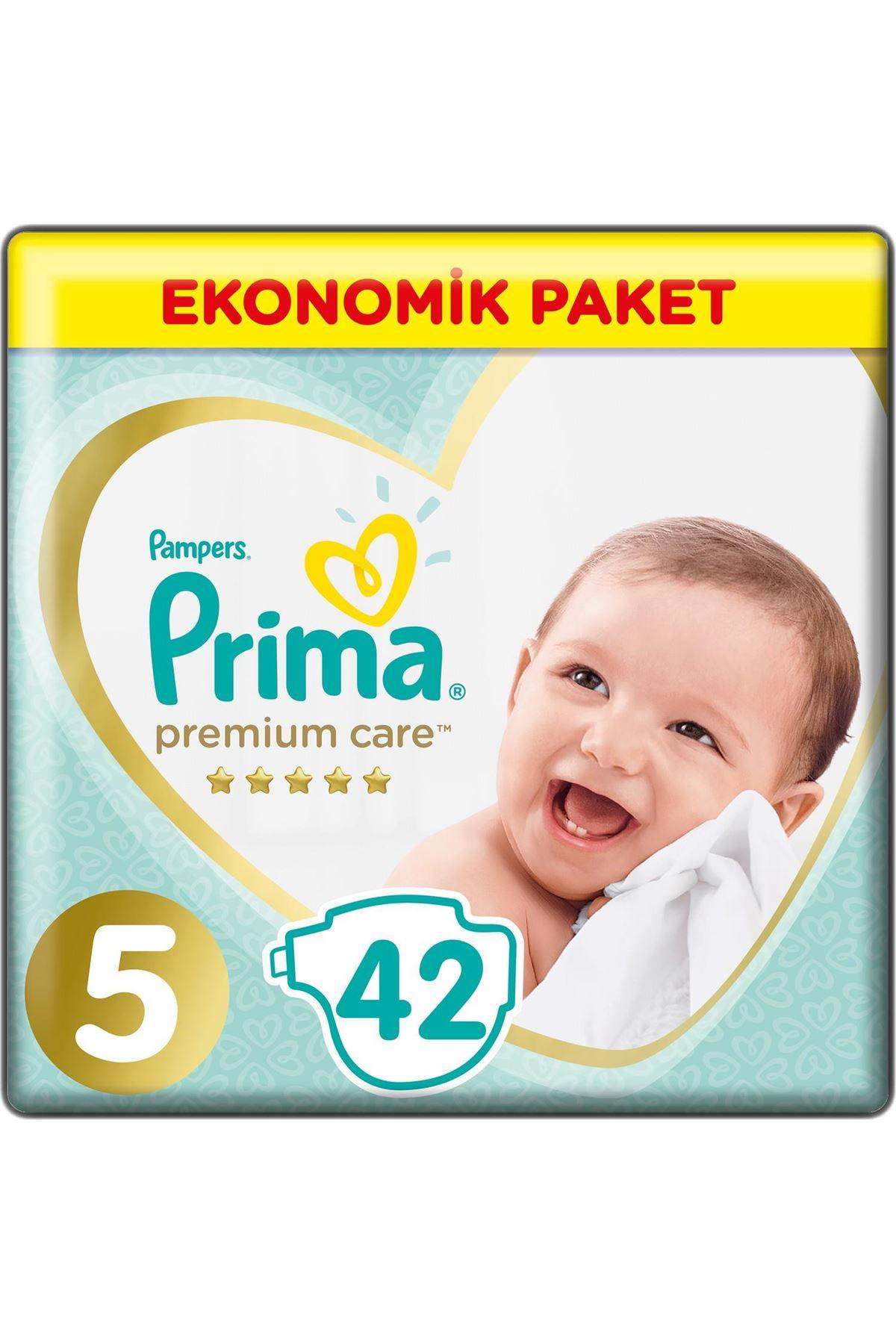 Prima Premium Care Bebek Bezi Ekonomik Paket 5 Beden 42 Adet