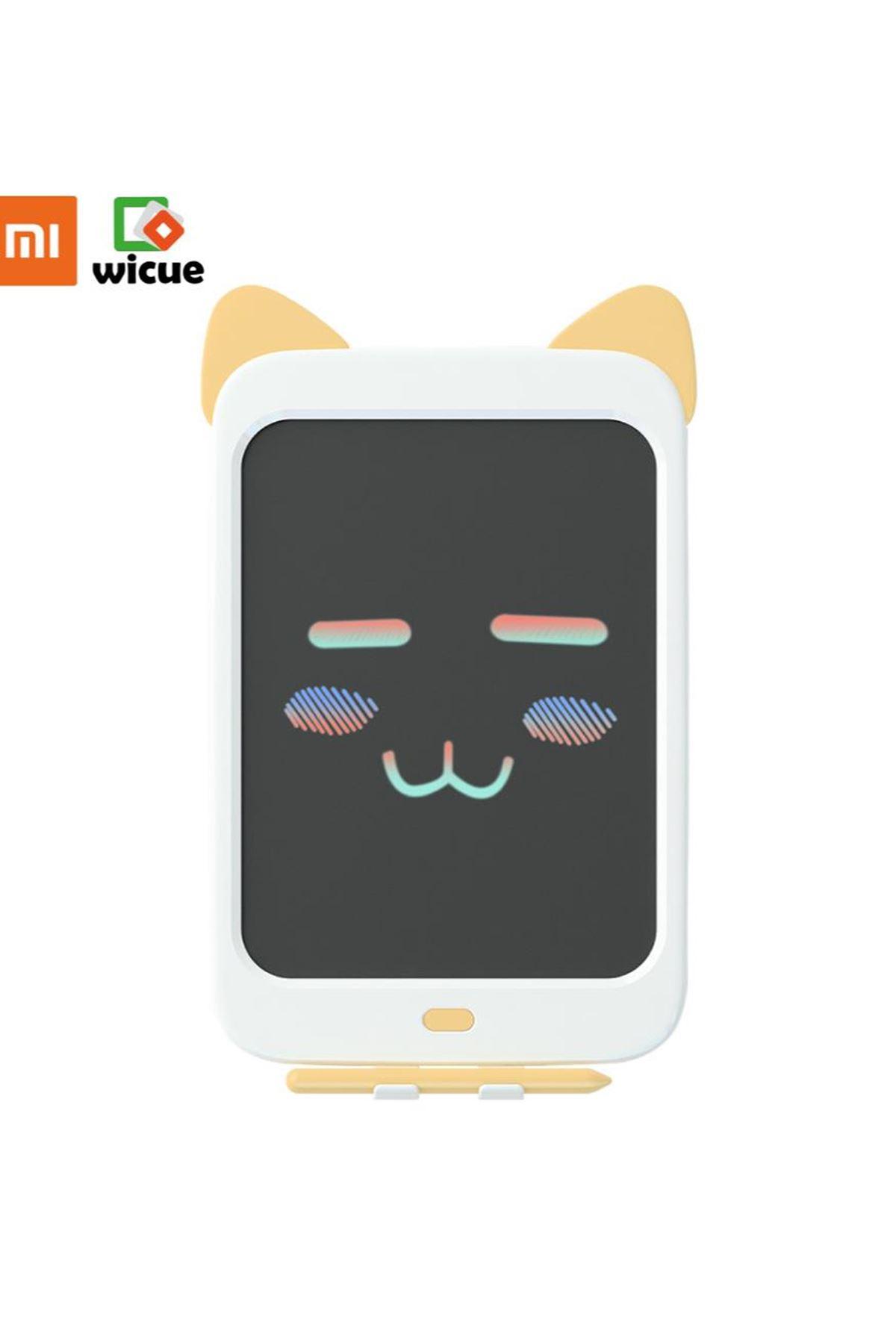 Xiaomi Wicue 10 Sarı Kedi LCD Dijital Renkli Çizim Tableti