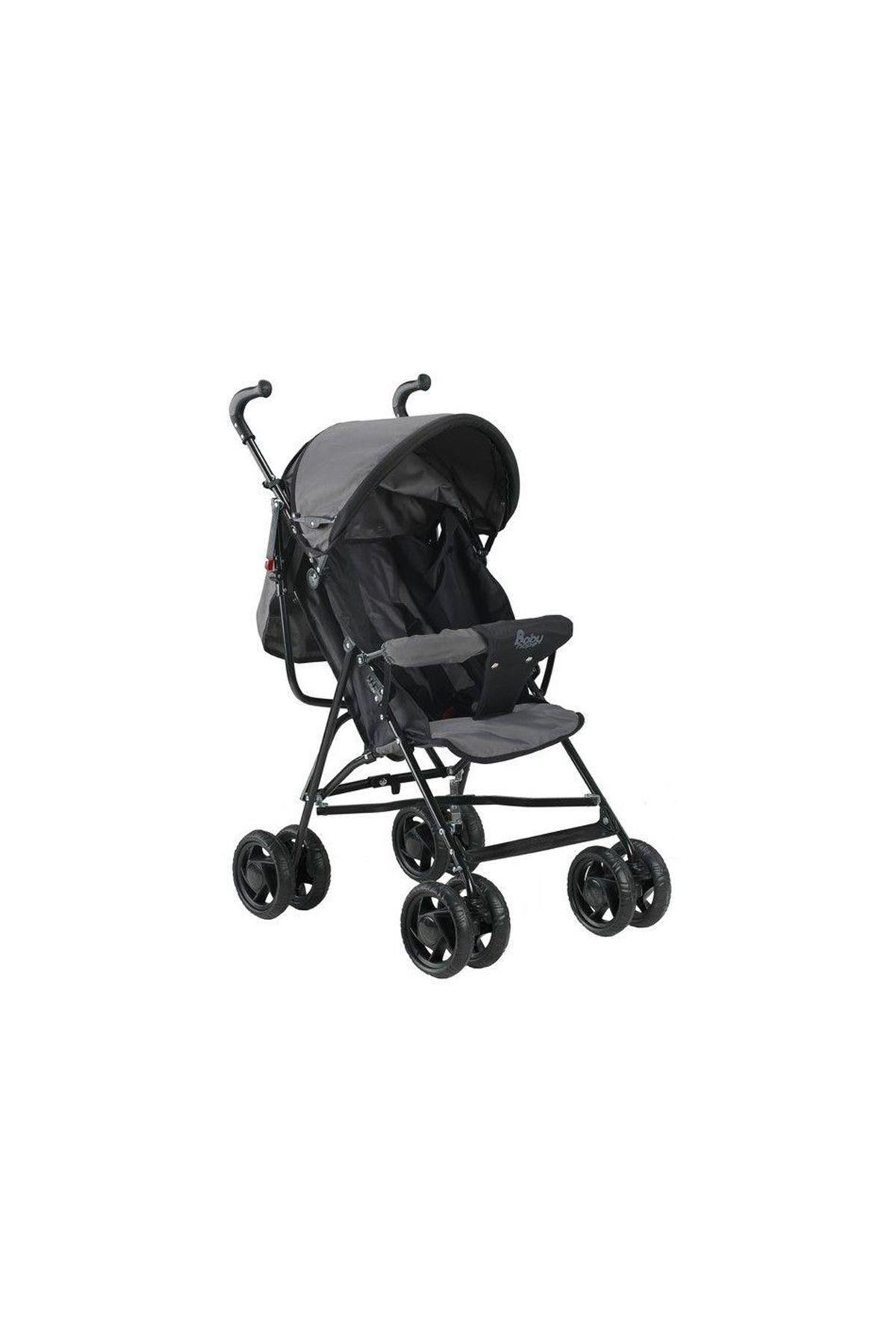 Babyhope SC100 Baston Bebek Arabası Siyah