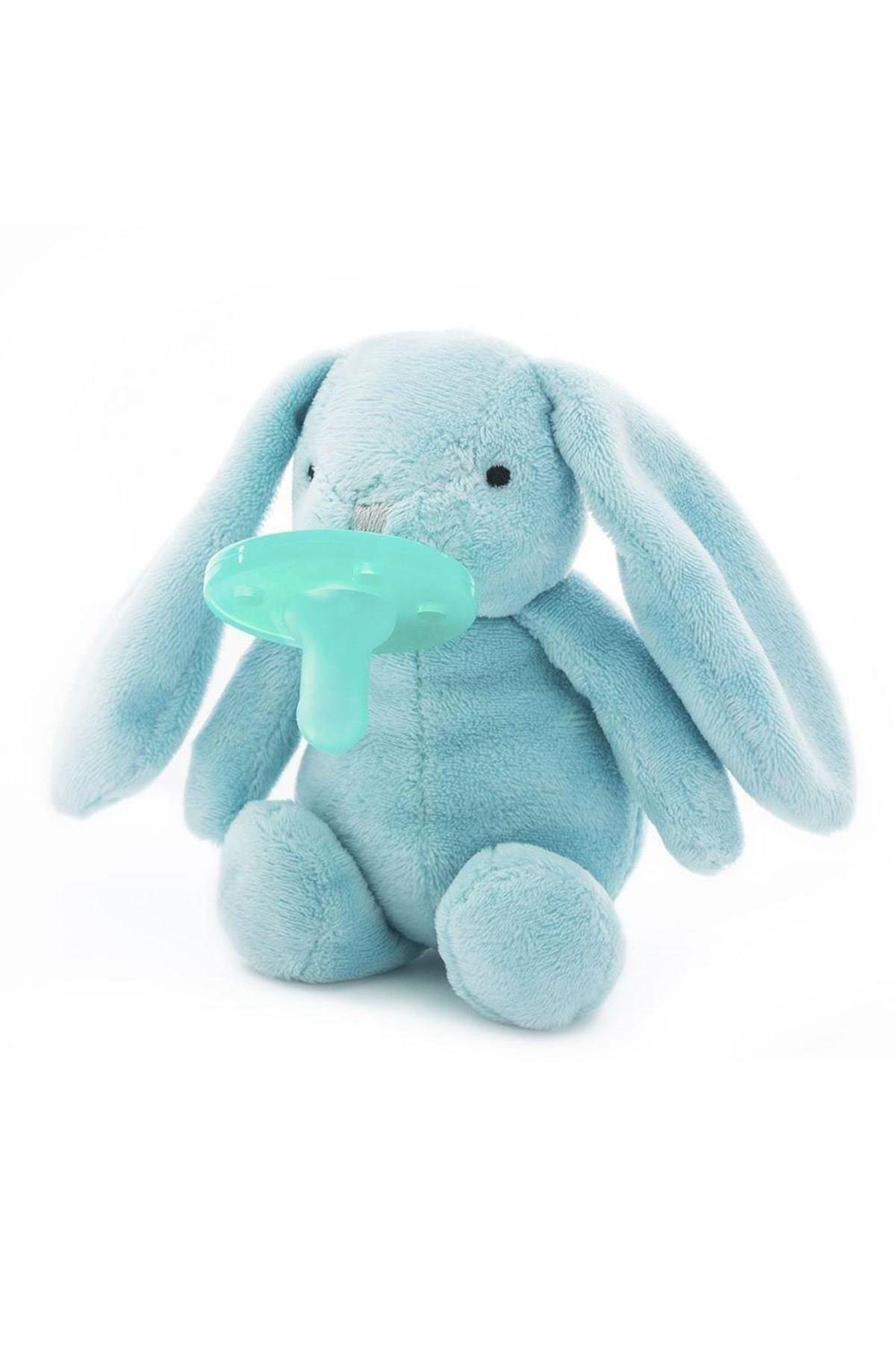 OiOi Emzikli Uyku Arkadaşı Mavi Tavşan