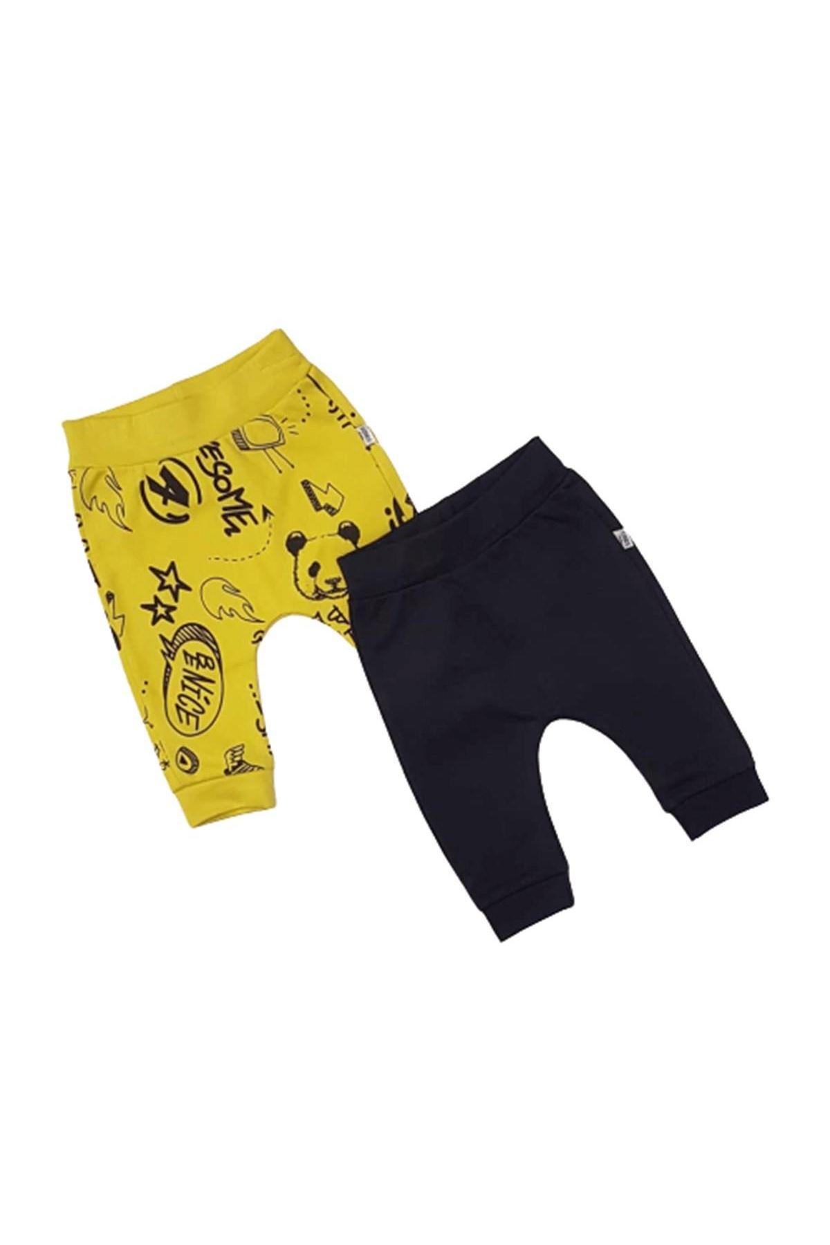 Tongs Bebe Tek Alt Pantolon 3145 Sarı