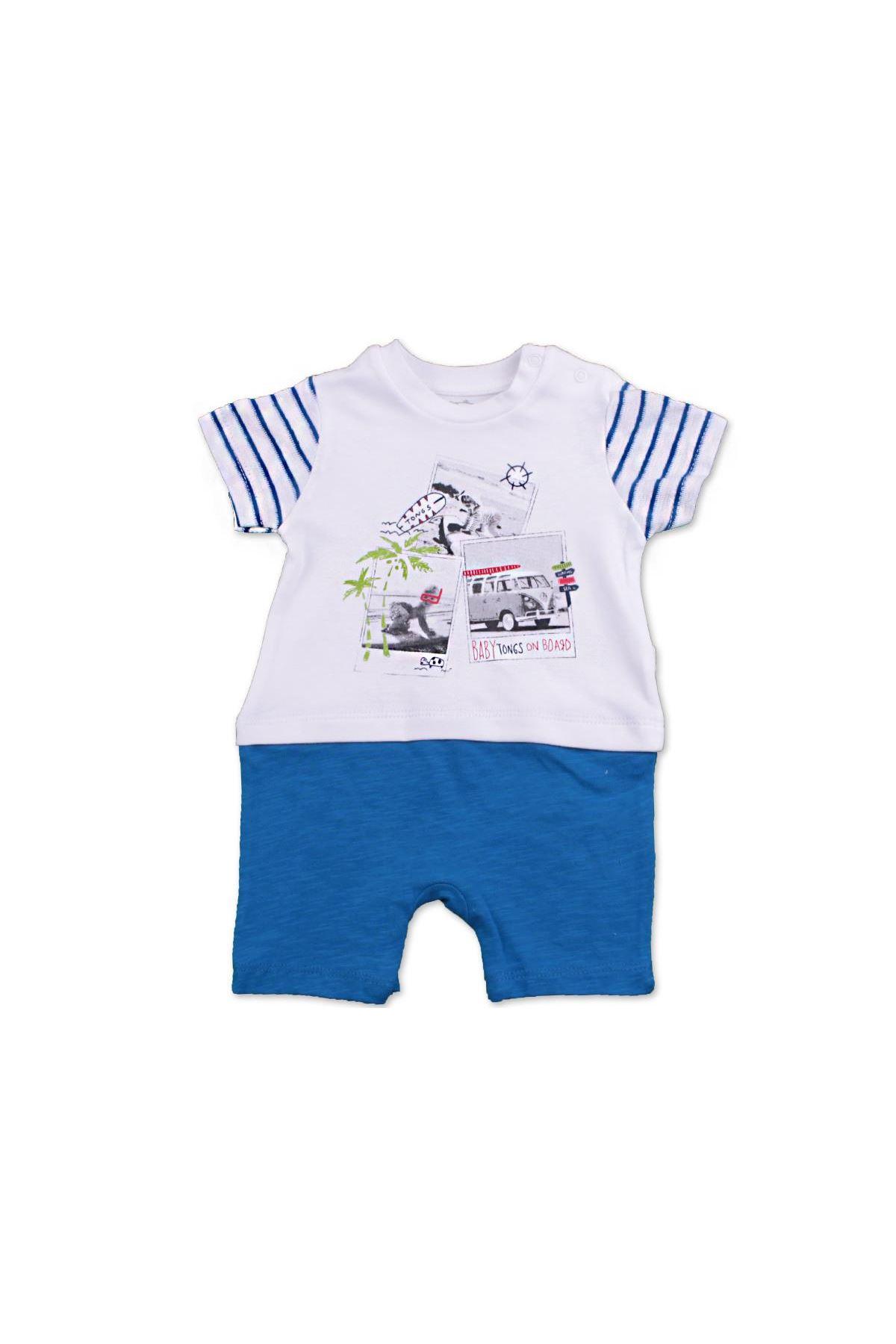 Tongs Baby On Board Tulum 2581 Mavi