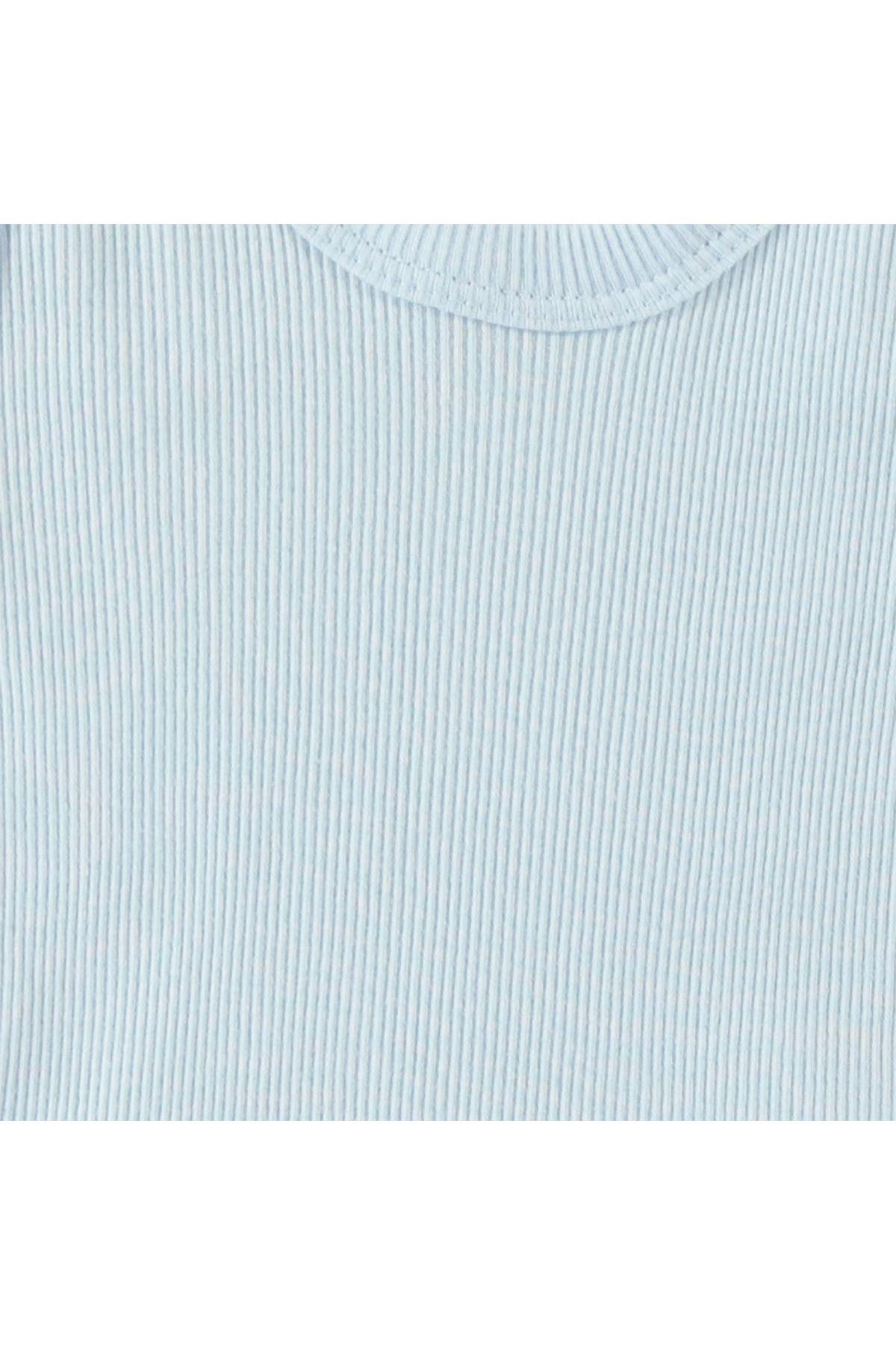 Albimini Minidamla Kaşkorse Bebe Askılı Çamaşır Takımı 42770 Mavi