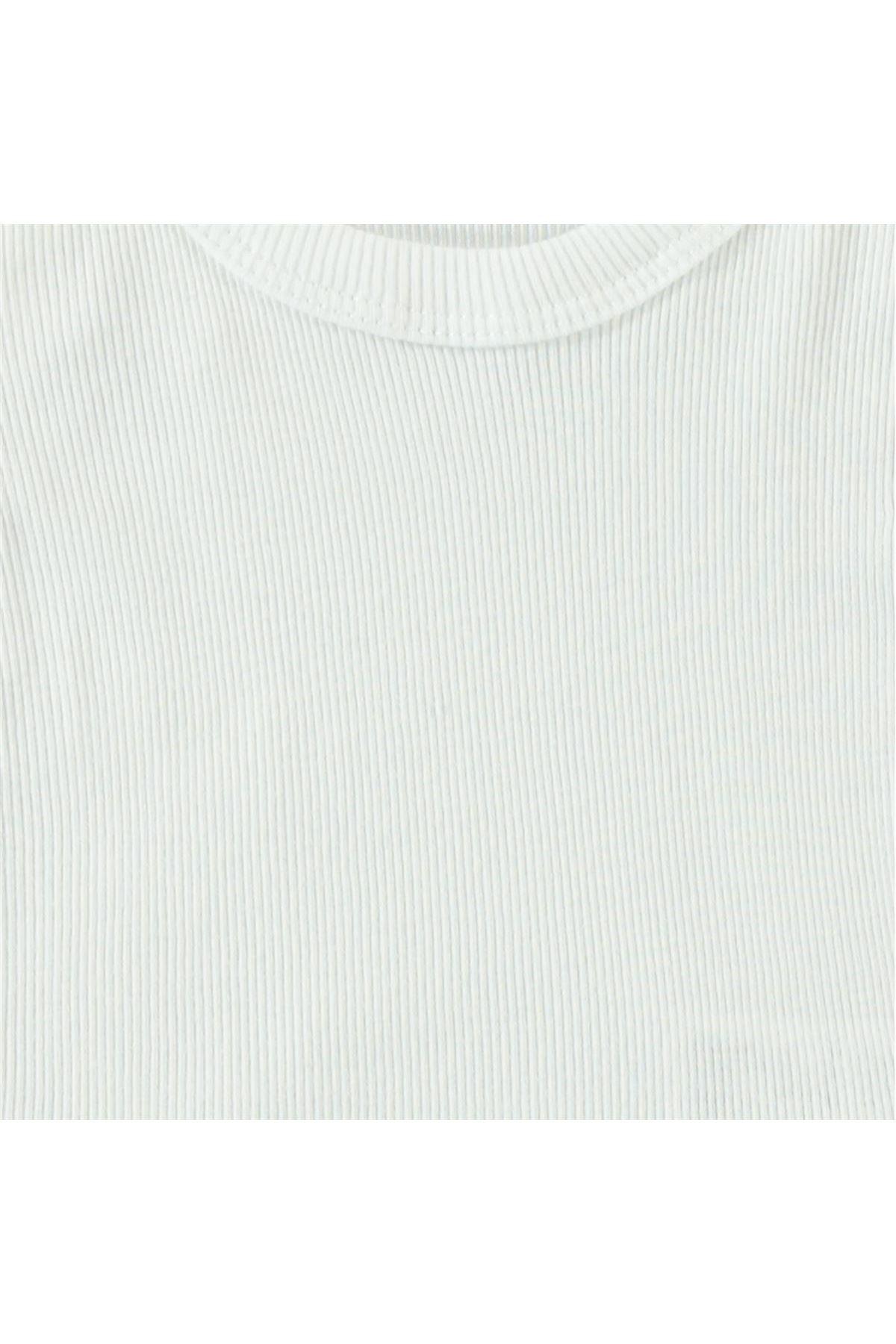 Albimini Minidamla Kaşkorse Bebe Askılı Çamaşır Takımı 42770 Ekru