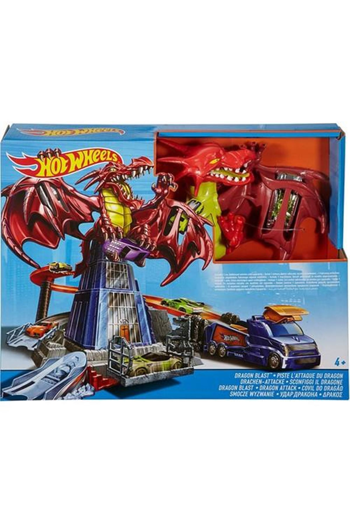 Hot Wheels Ejderha Macerası Oyun Seti DWL04
