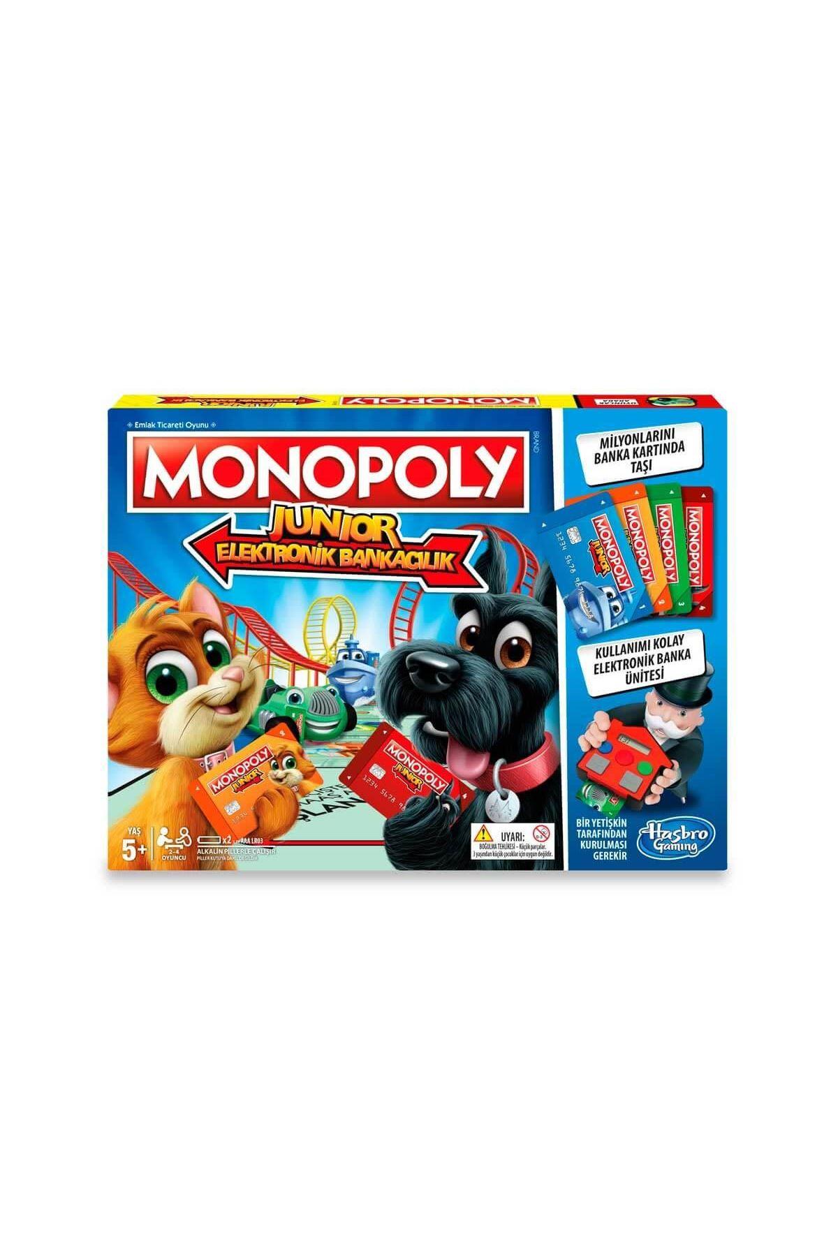 Hasbro Monopoly Junior Elektronik Bankacılık E1842